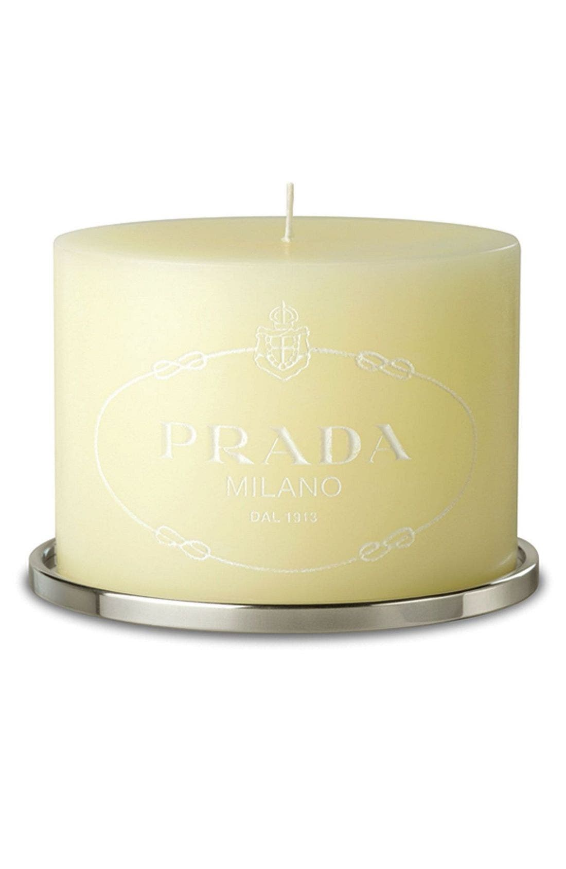 'Infusion D'Iris' Perfumed Candle, Main, color, 000