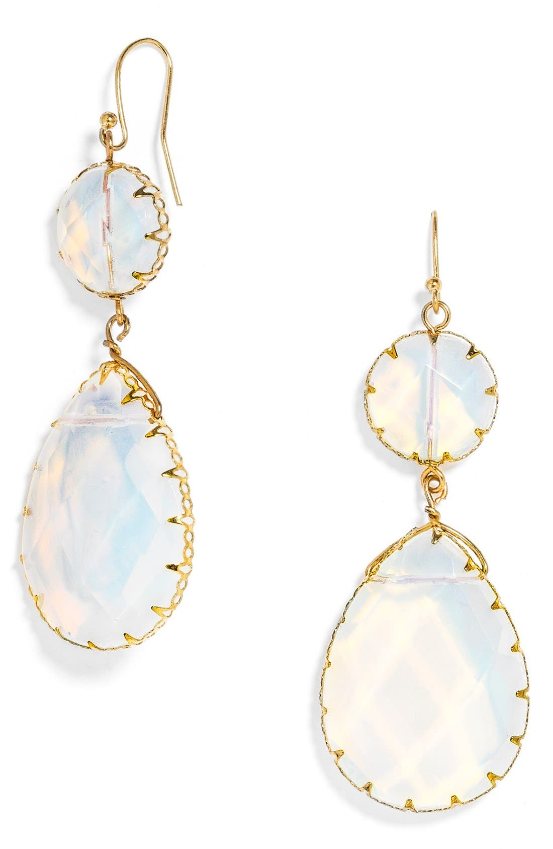 BAUBLEBAR 'Luxe Boho' Drop Earrings, Main, color, 100