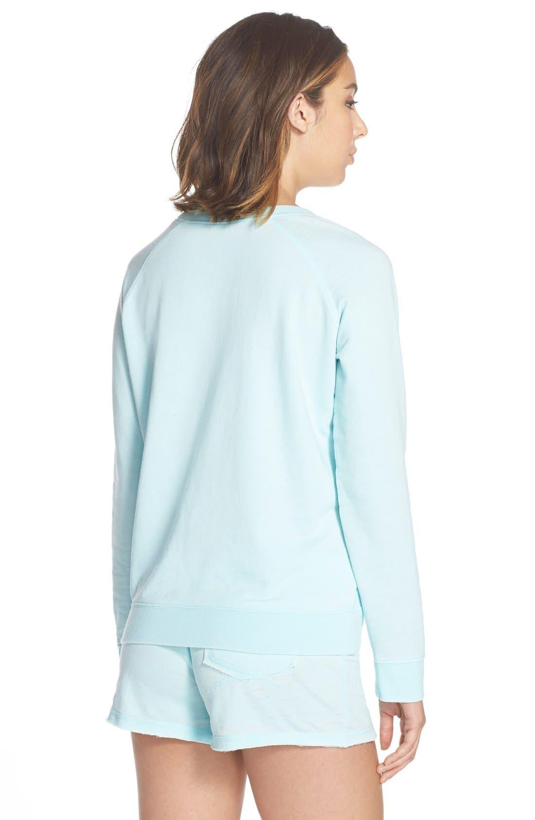 Burnout Lounge Sweatshirt,                             Alternate thumbnail 286, color,