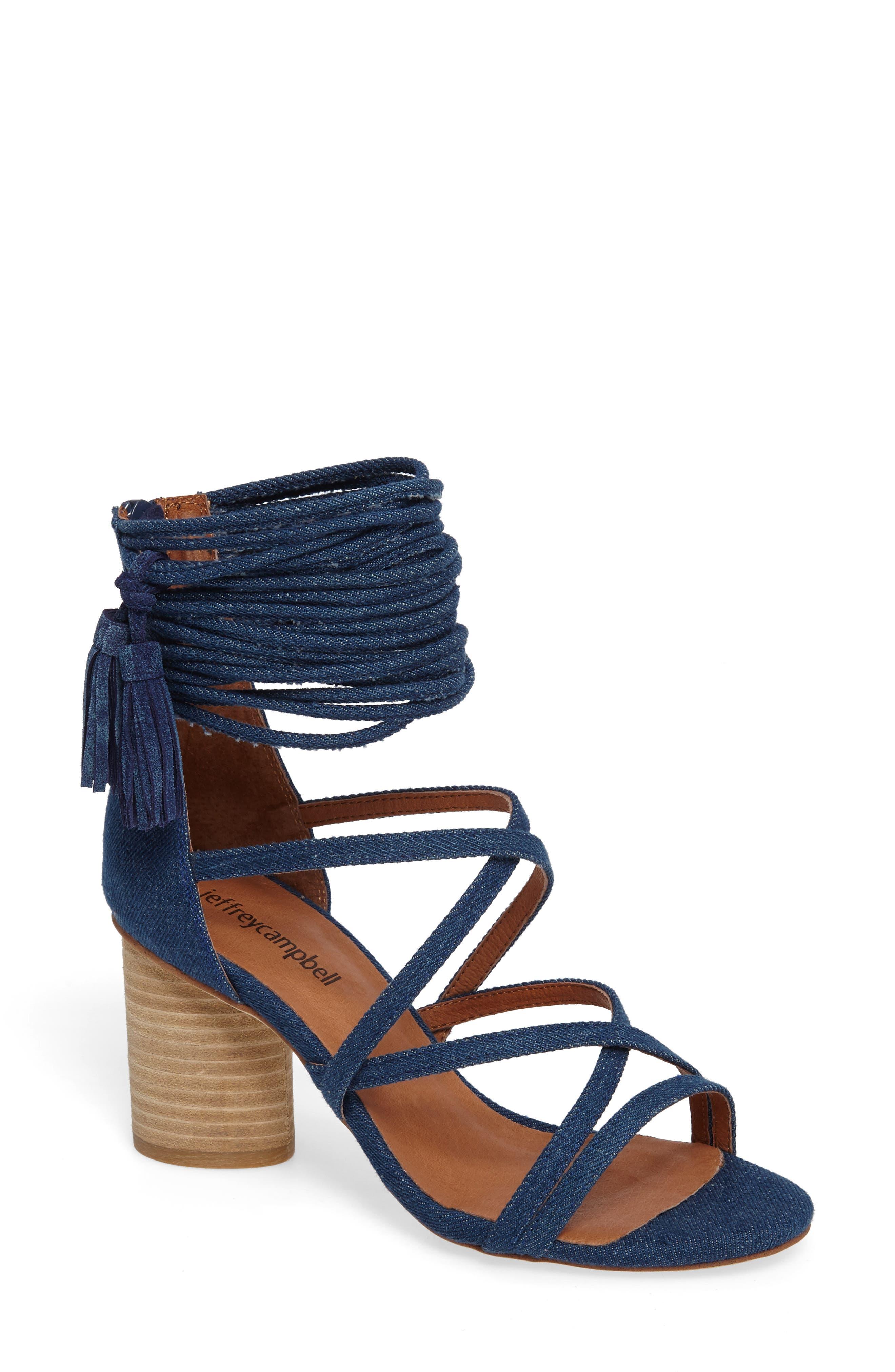 'Despina' Strappy Sandal,                             Main thumbnail 6, color,