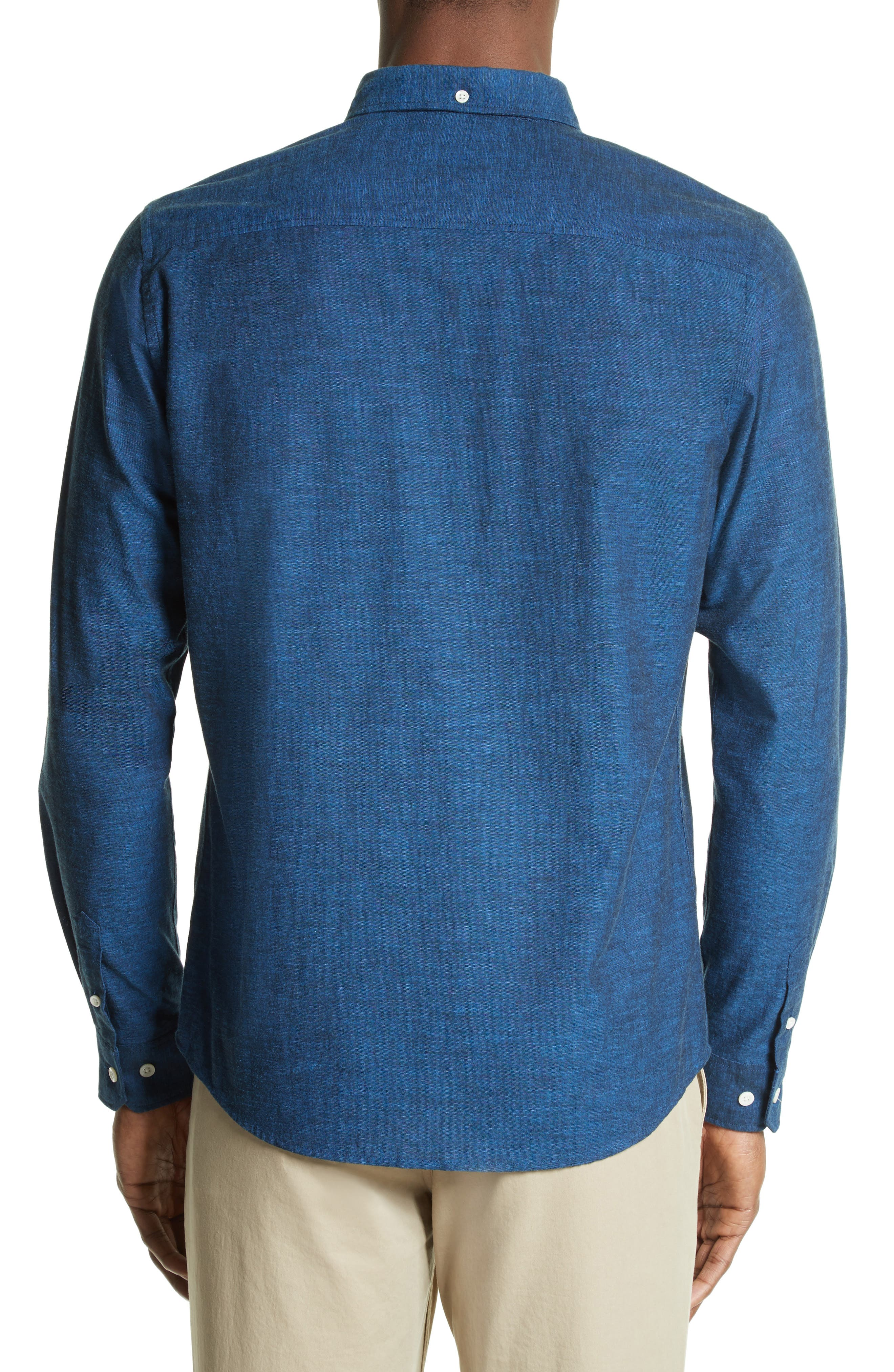 Woven Shirt,                             Alternate thumbnail 3, color,                             400