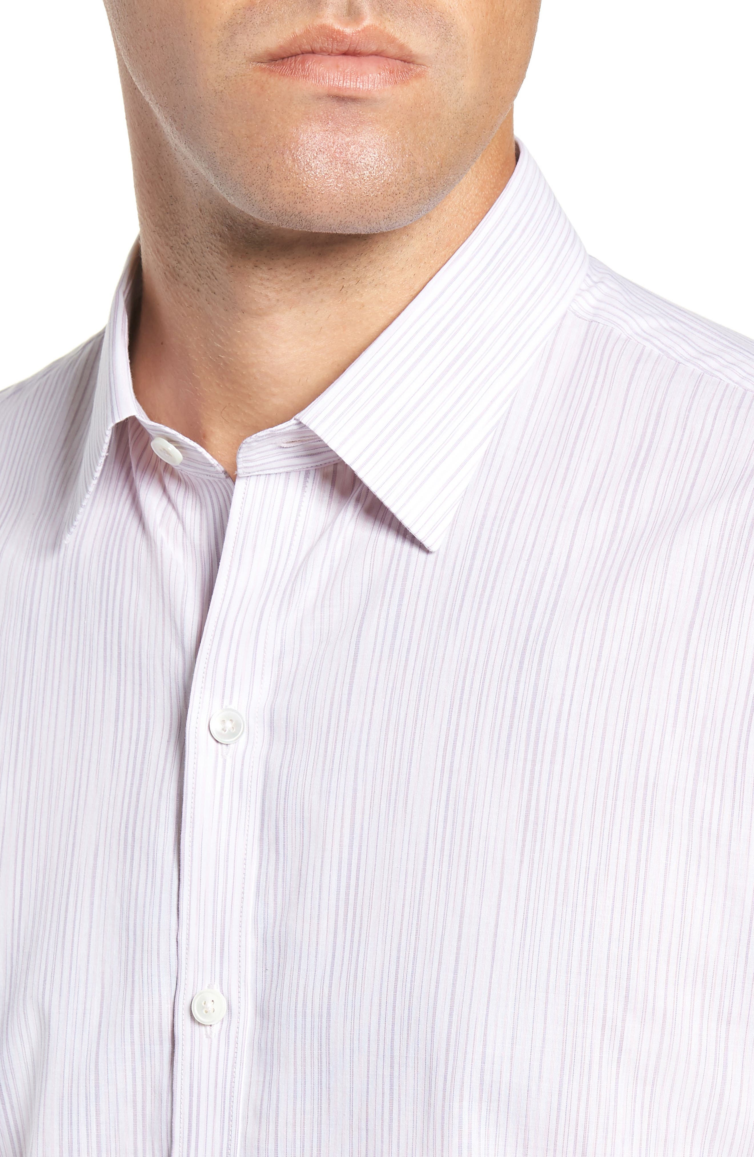 Bella Regular Fit Sport Shirt,                             Alternate thumbnail 2, color,                             LIGHT PINK