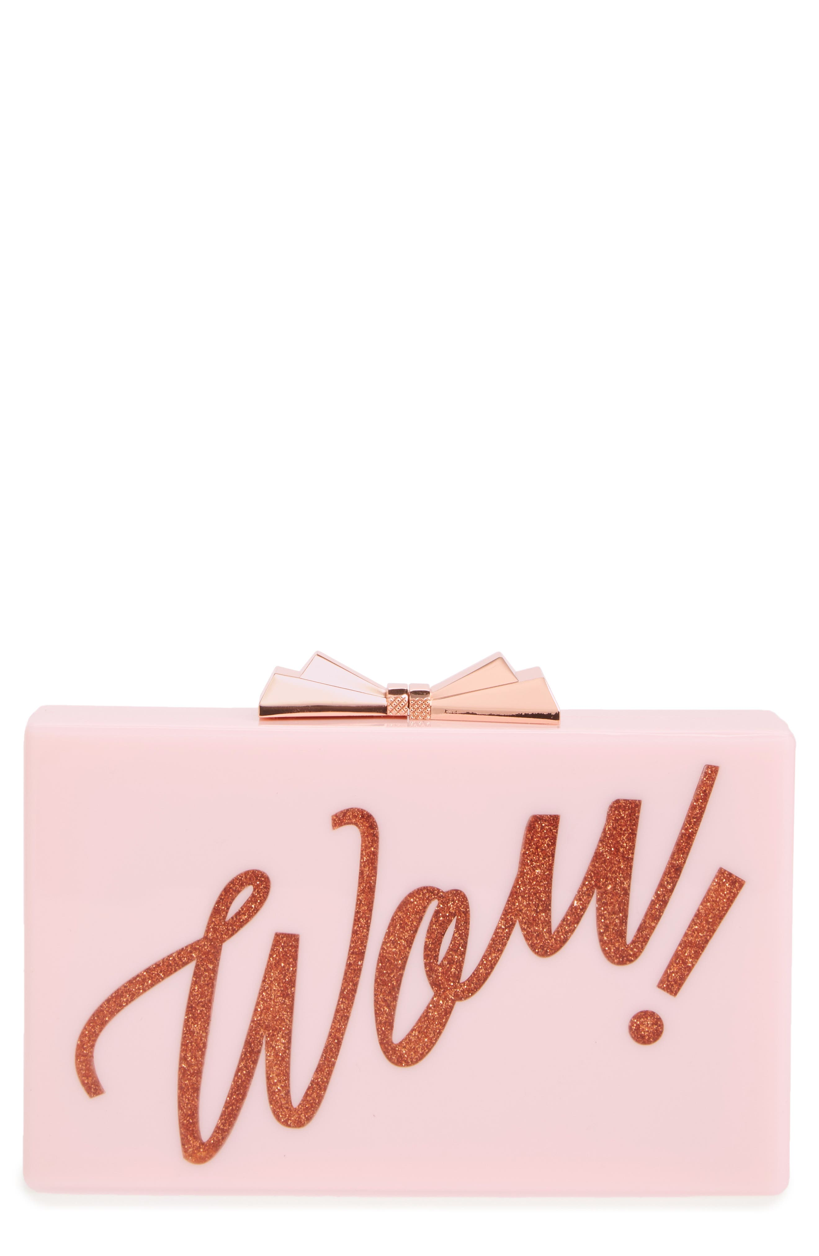 Stecy Wow Clutch, Main, color, 530