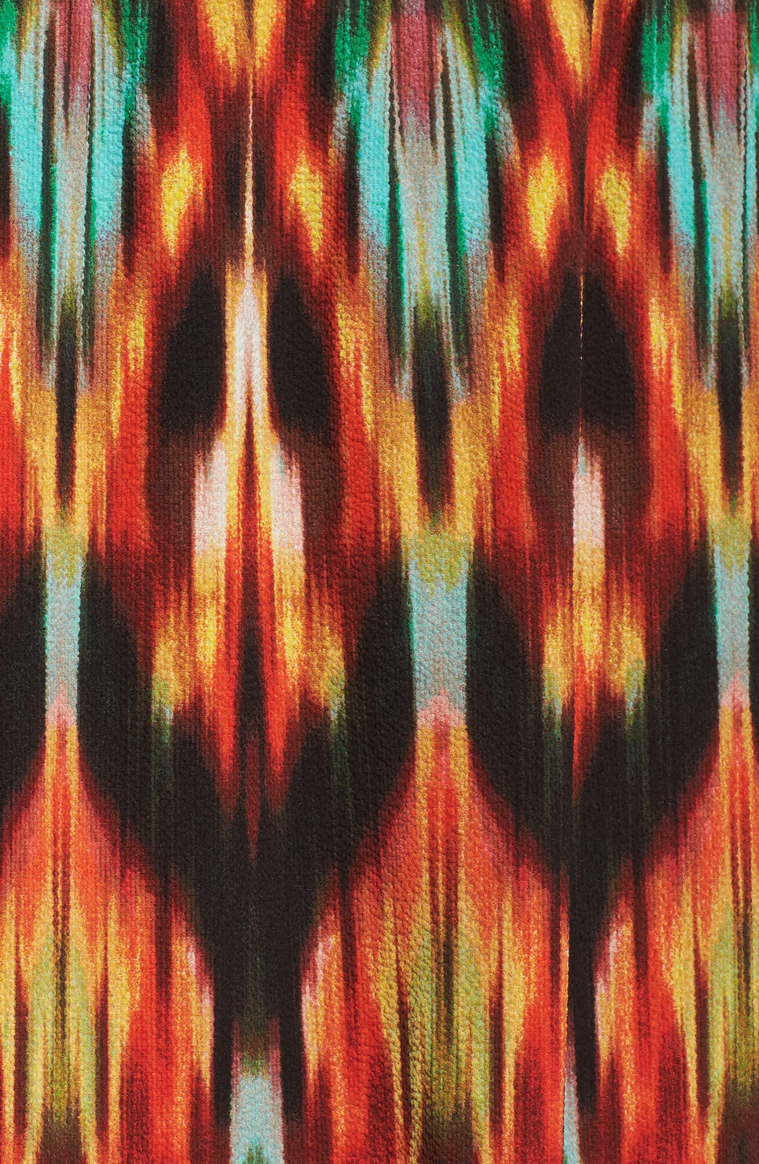 Bubble Print Maxi Dress,                             Alternate thumbnail 5, color,                             MULTI