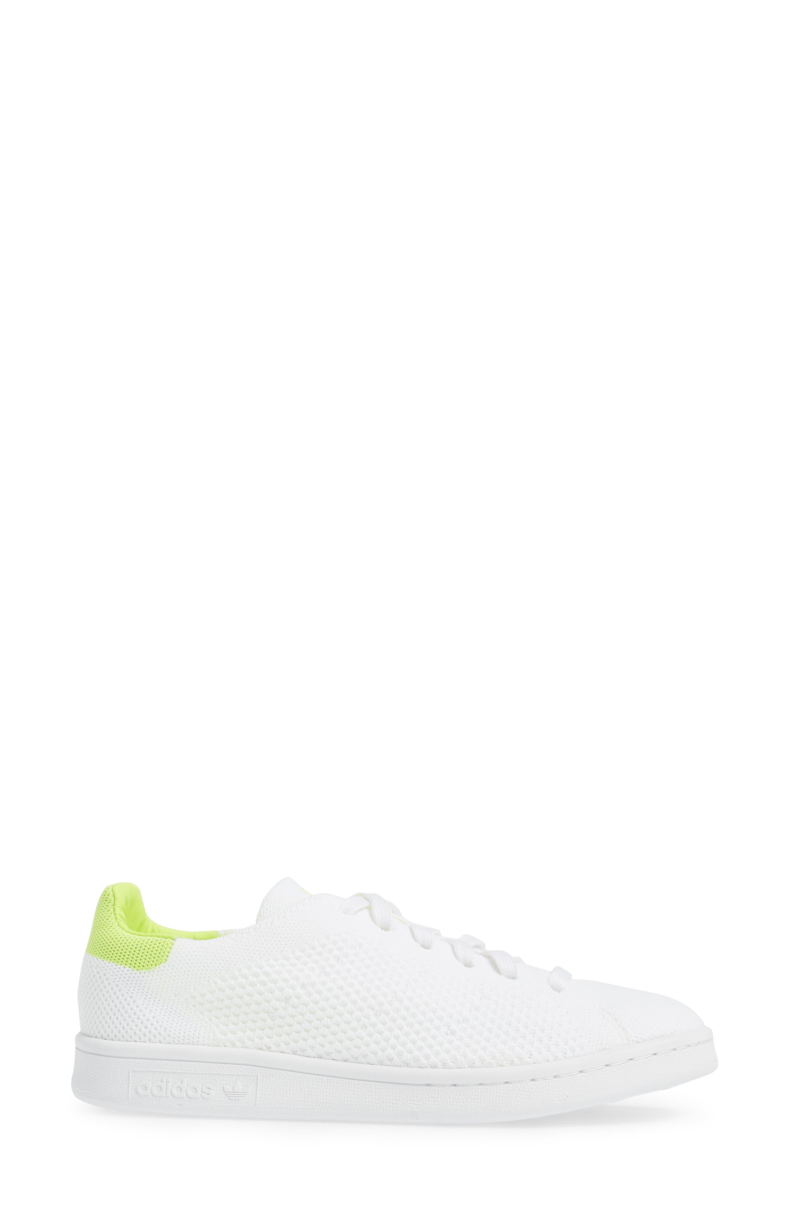 Stan Smith - Primeknit Sneaker,                             Alternate thumbnail 3, color,