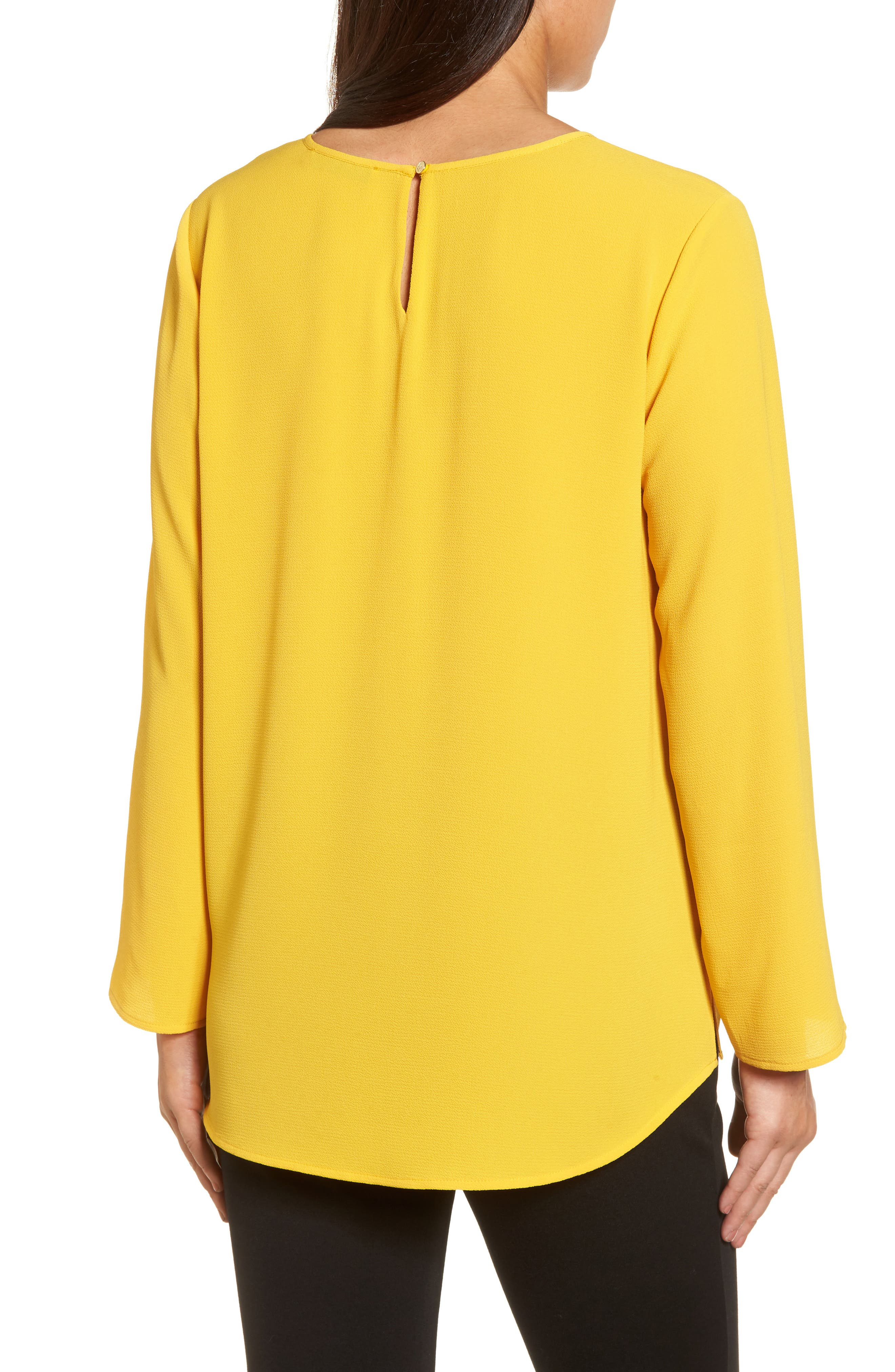 Pintuck Front Blouse,                             Alternate thumbnail 2, color,                             730