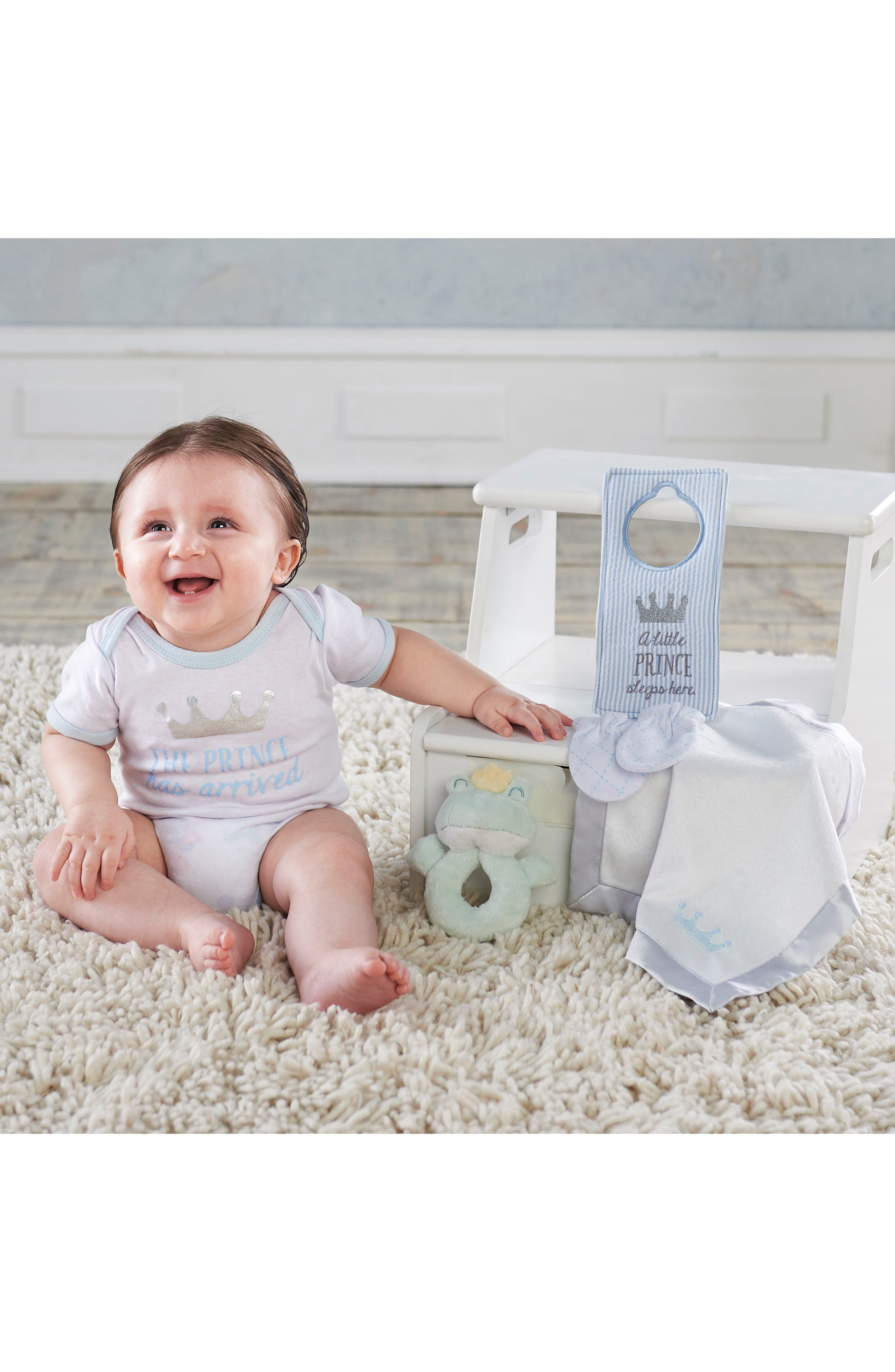 BABY ASPEN,                             Little Prince Welcome Home Gift Set,                             Alternate thumbnail 2, color,                             110