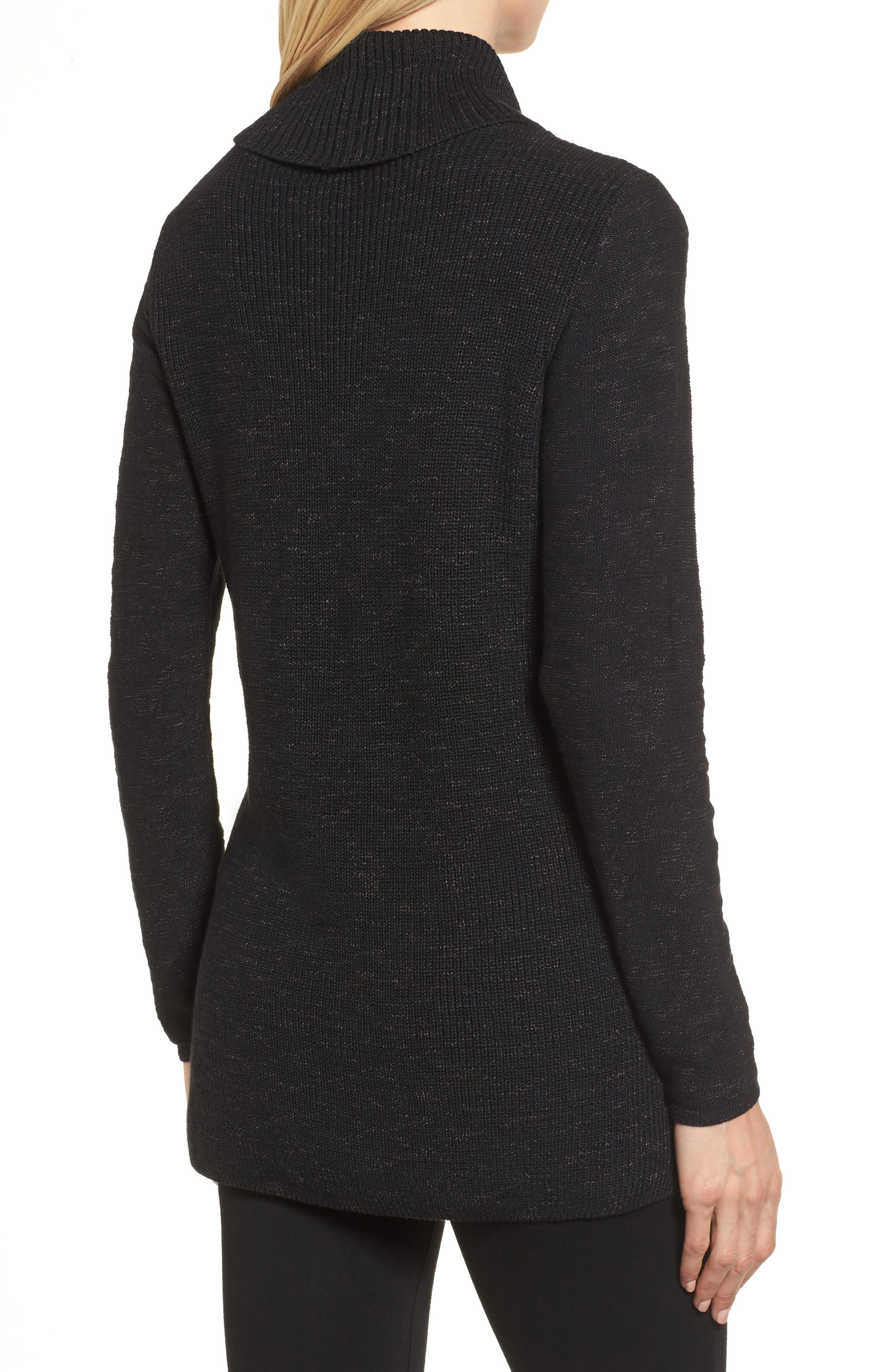 North Star Turtleneck Tunic,                             Alternate thumbnail 4, color,
