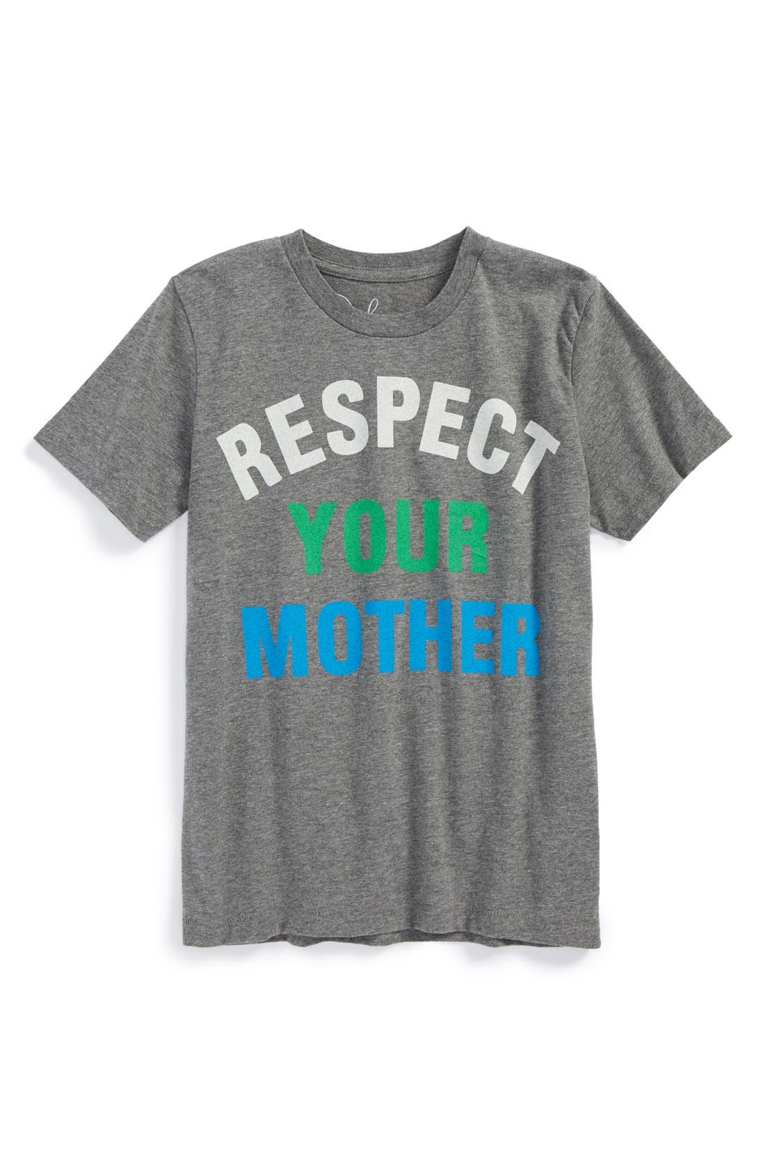Peek 'Respect Your Mother' T-Shirt,                             Main thumbnail 1, color,                             020