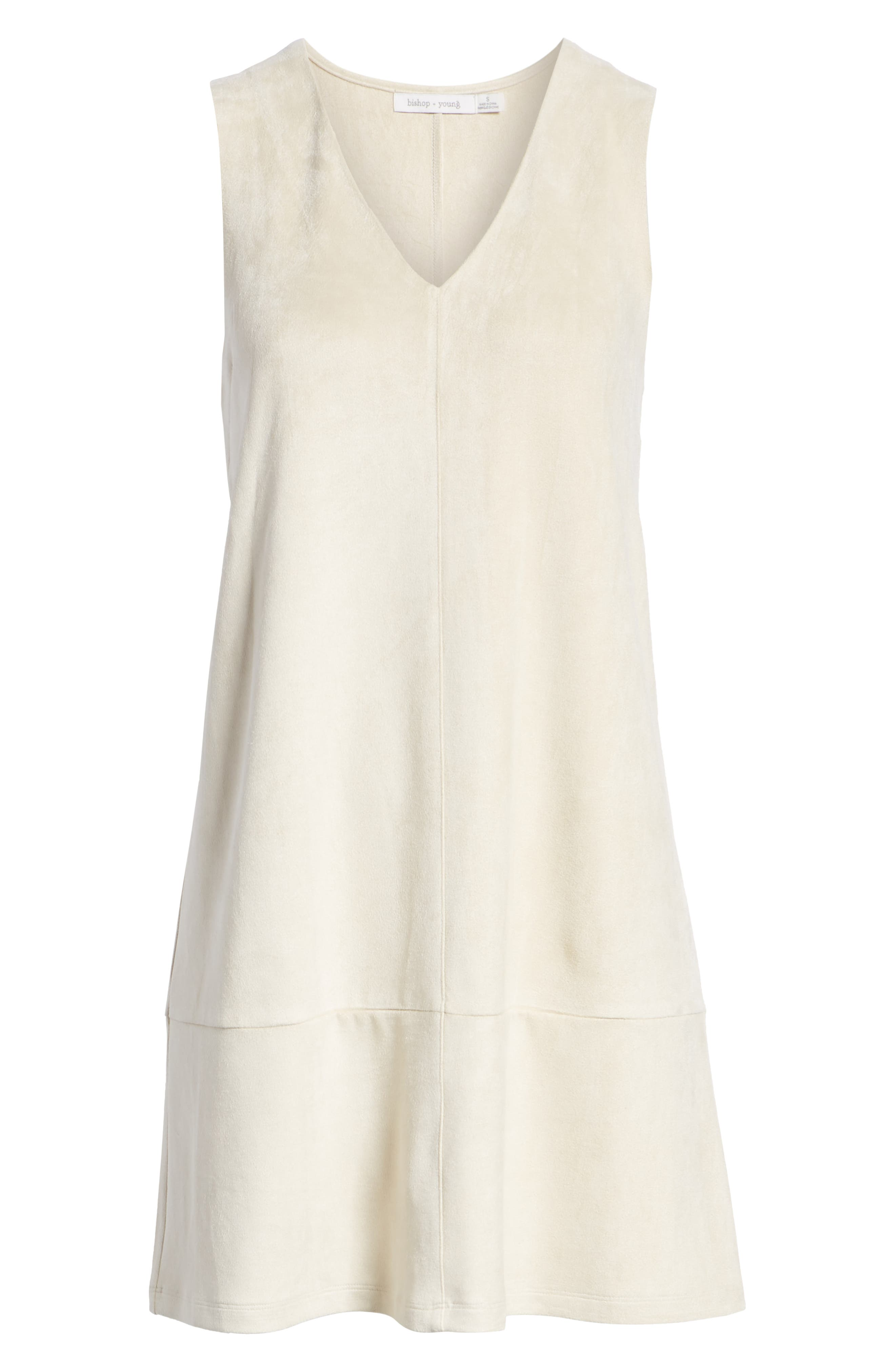 Sueded Sleeveless Shift Dress,                             Alternate thumbnail 7, color,                             251