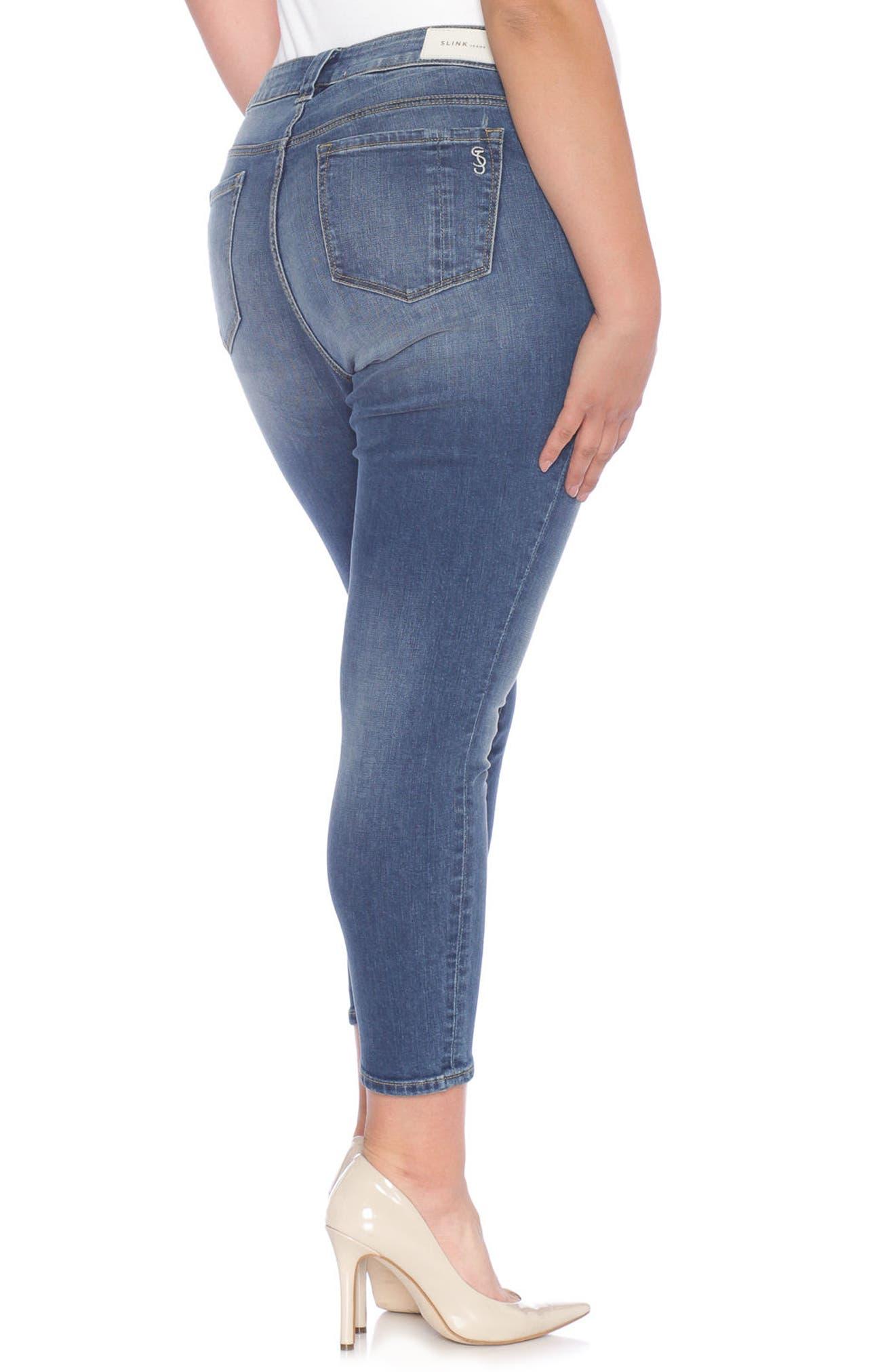 Skinny Ankle Jeans,                             Alternate thumbnail 2, color,                             462