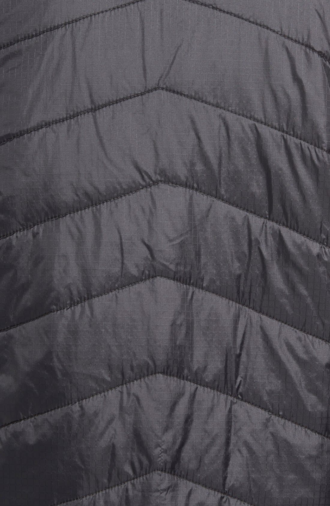 'Wool Aire' Water Resistant Jacket,                             Alternate thumbnail 3, color,                             001
