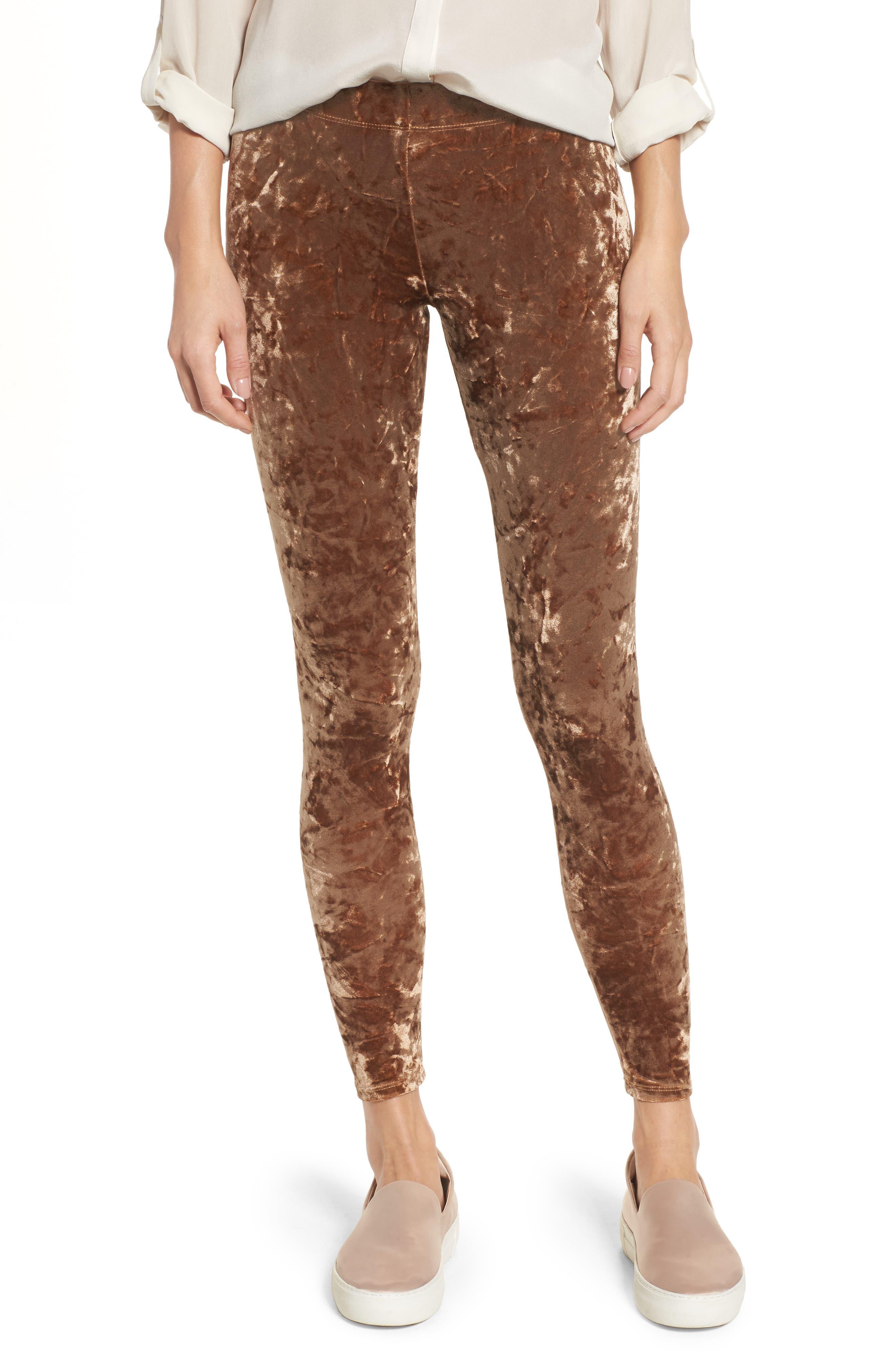 NORDSTROM Velvet Leggings, Main, color, 710