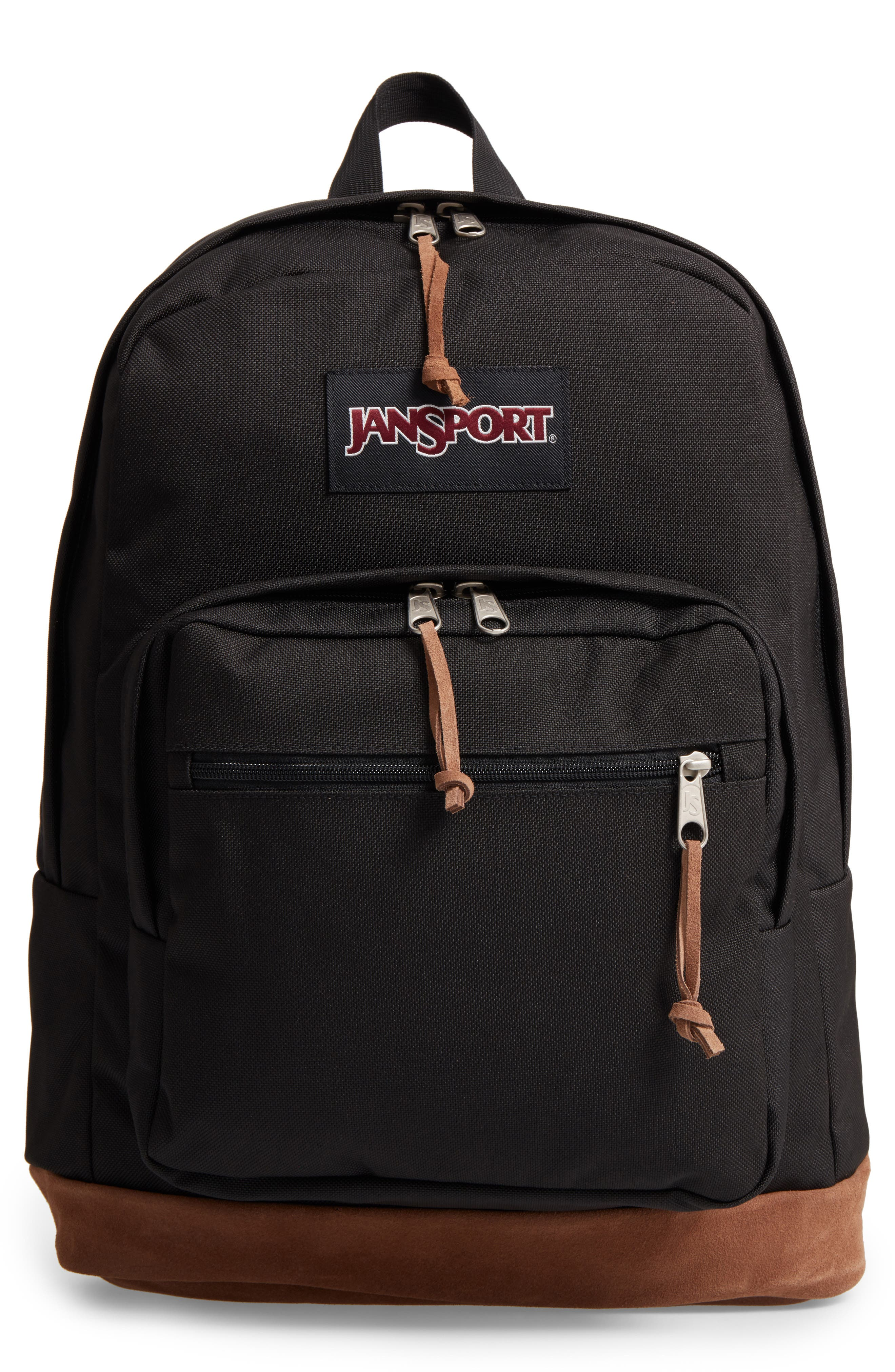 'Right Pack' Backpack,                             Main thumbnail 1, color,                             BLACK