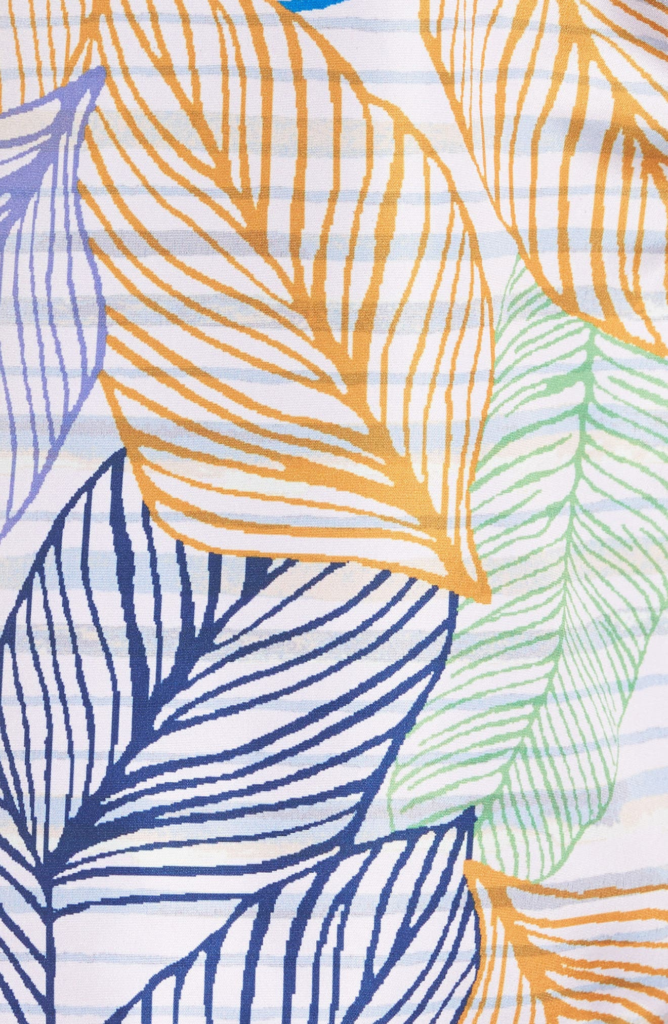 Blue Sky Reversible Swim Trunks,                             Alternate thumbnail 6, color,                             MULTICOLOR