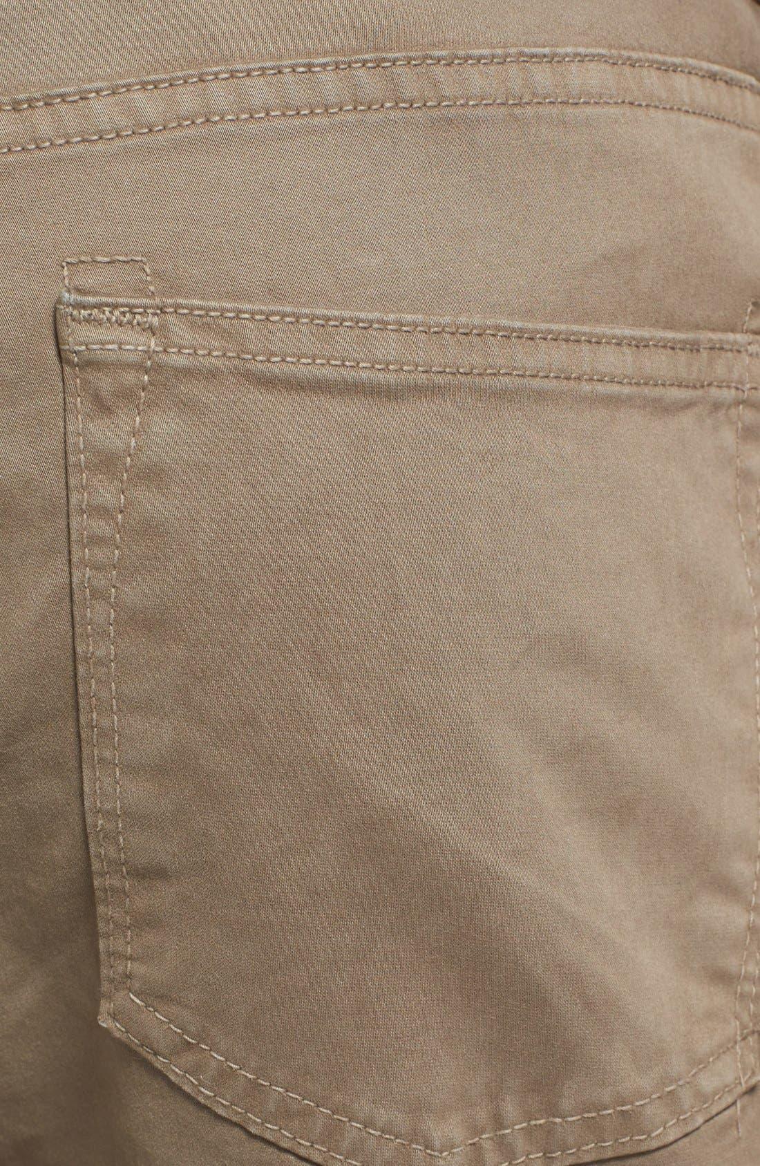 'Kane' Slim Fit Cotton Twill Pants,                             Alternate thumbnail 32, color,