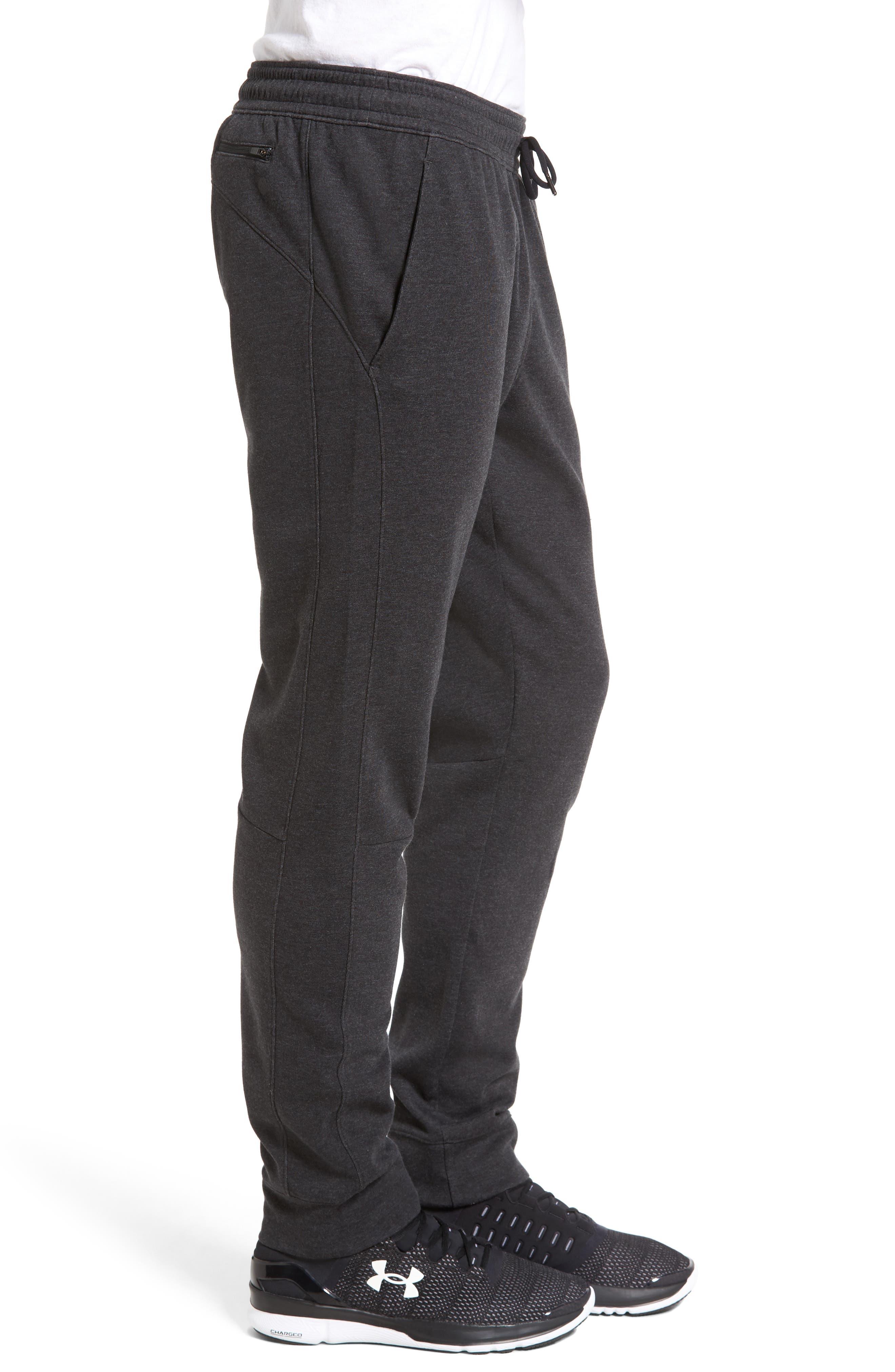 Knit Jogger Pants,                             Alternate thumbnail 3, color,                             001