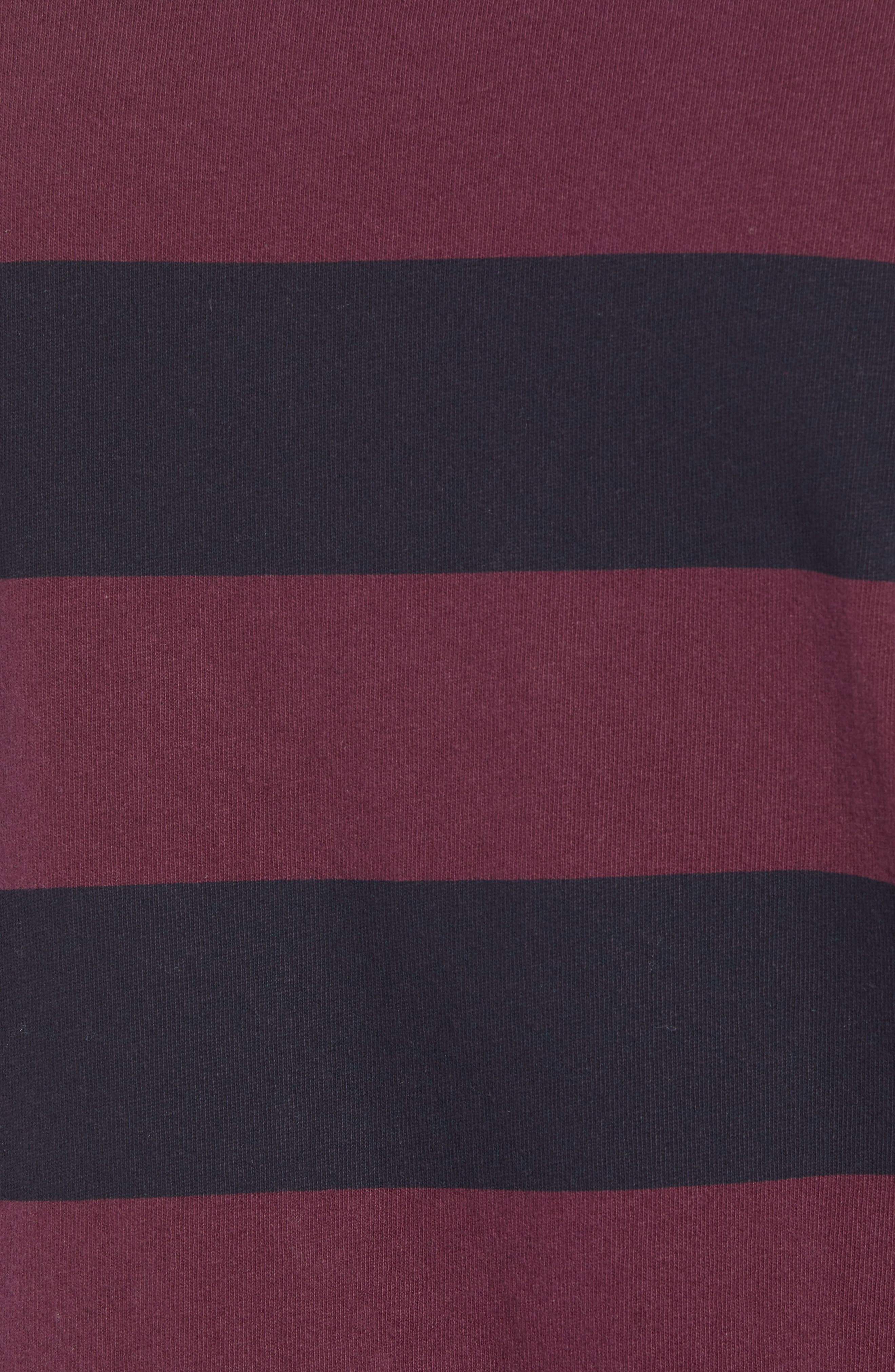 Stripe T-Shirt,                             Alternate thumbnail 5, color,                             500