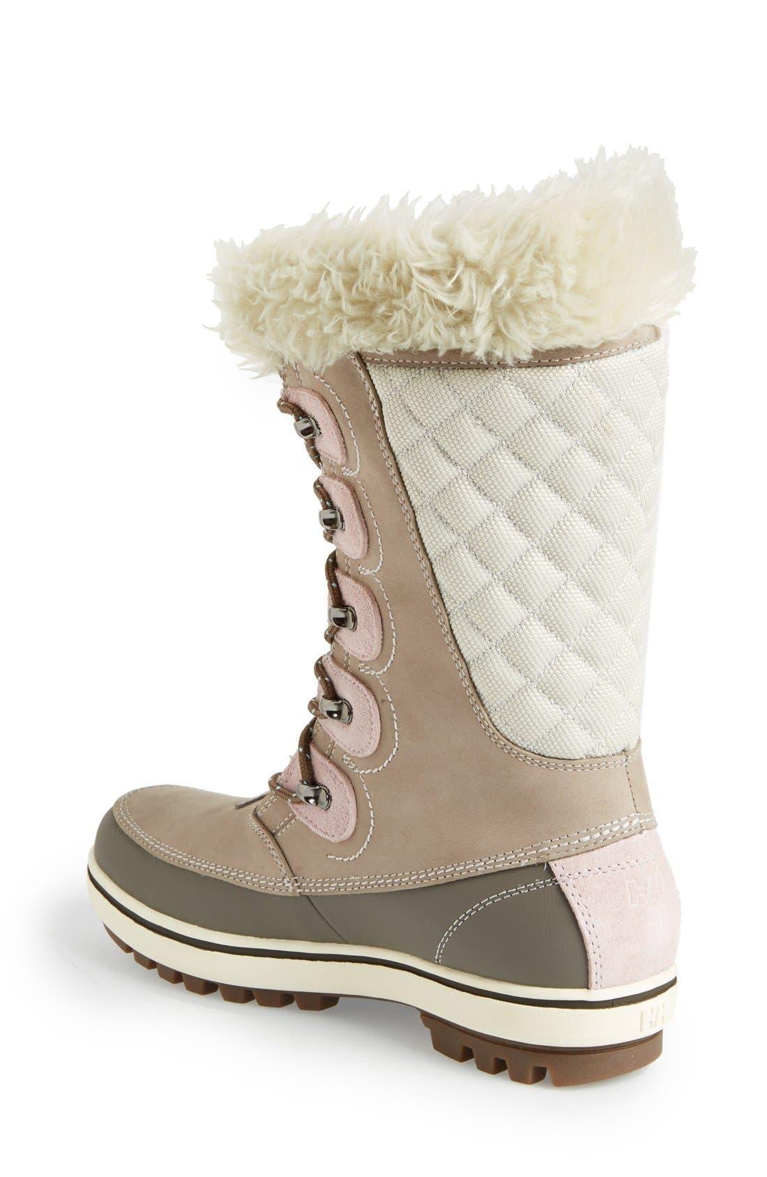 'Garibaldi' Waterproof Snow Boot,                             Alternate thumbnail 2, color,                             097