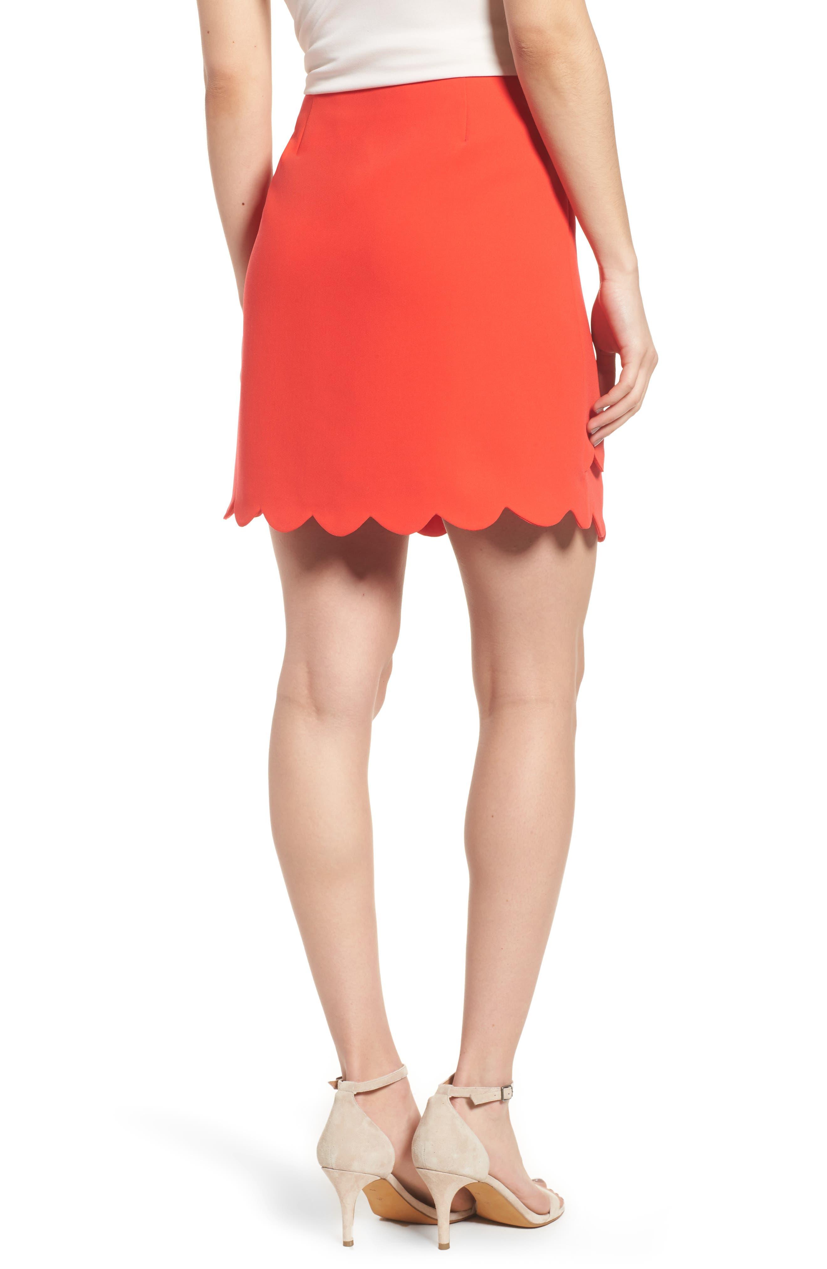 Scallop Skirt,                             Alternate thumbnail 4, color,