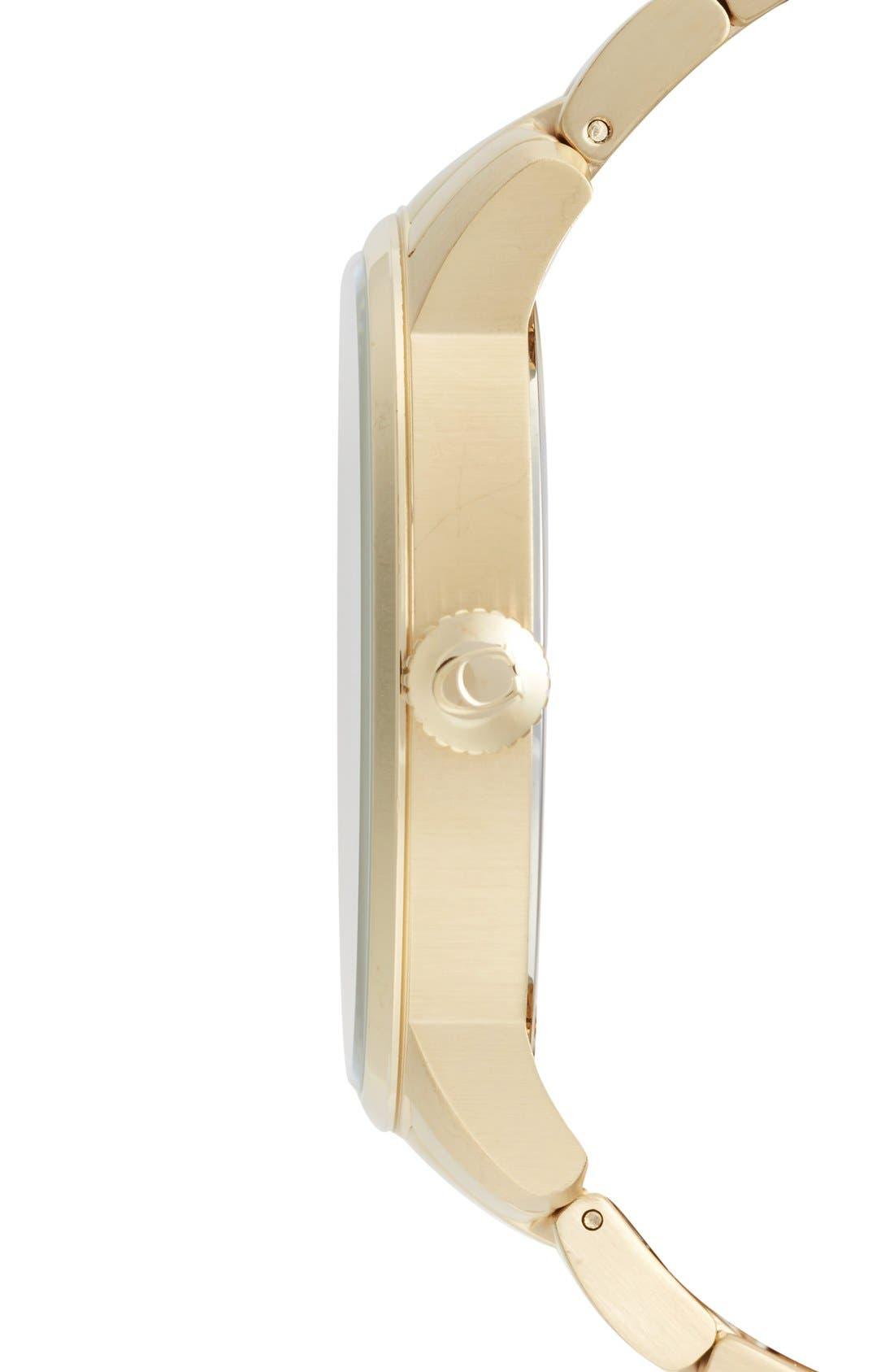 'Bleeker' Round Bracelet Watch, 46mm,                             Alternate thumbnail 7, color,