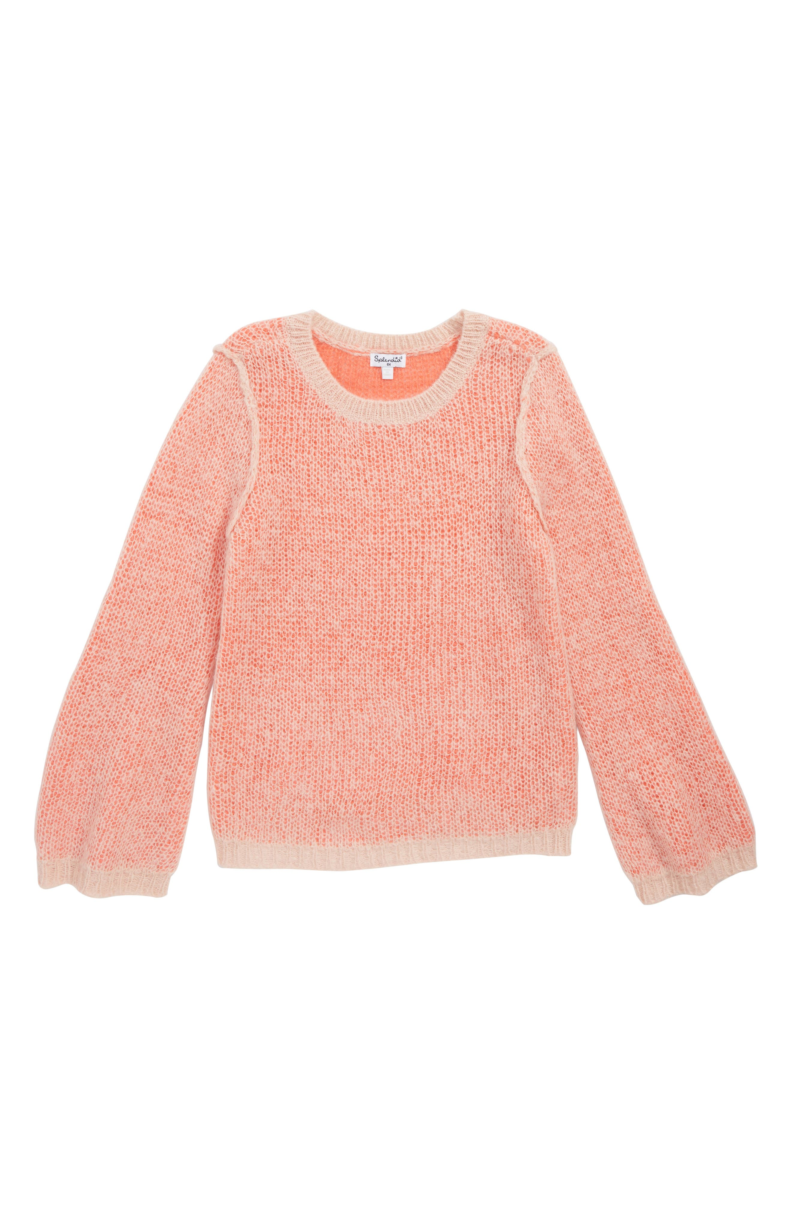 Two-Tone Sweater,                             Main thumbnail 1, color,                             650