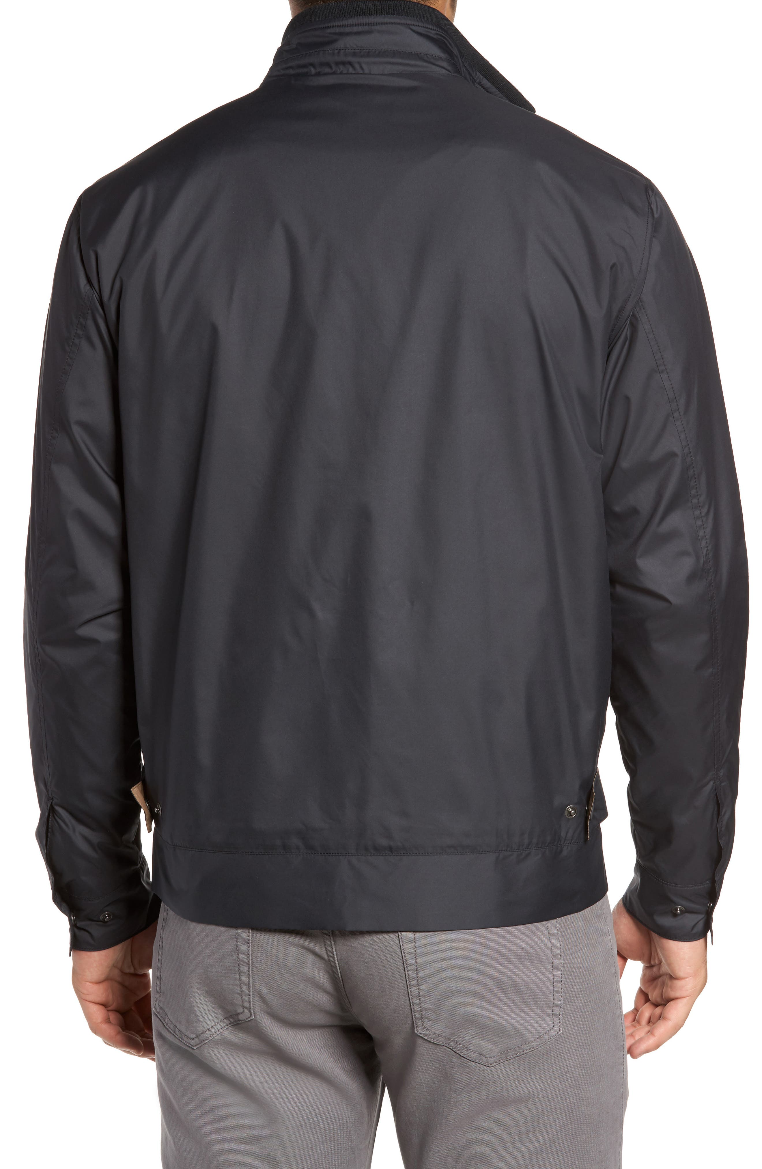 Zip Jacket,                             Alternate thumbnail 2, color,                             BLACK
