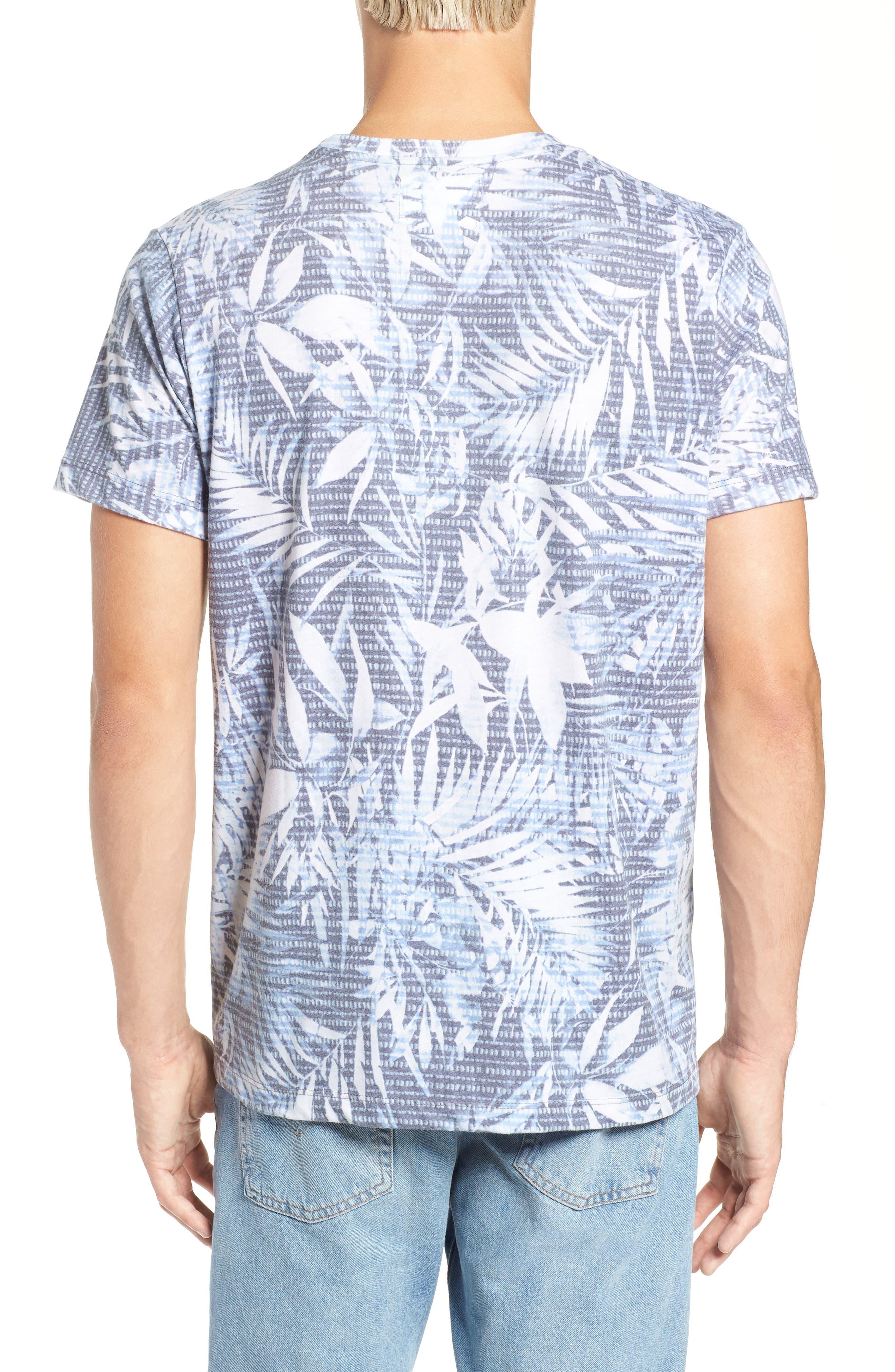 Twilight Floral T-Shirt,                             Alternate thumbnail 2, color,                             400