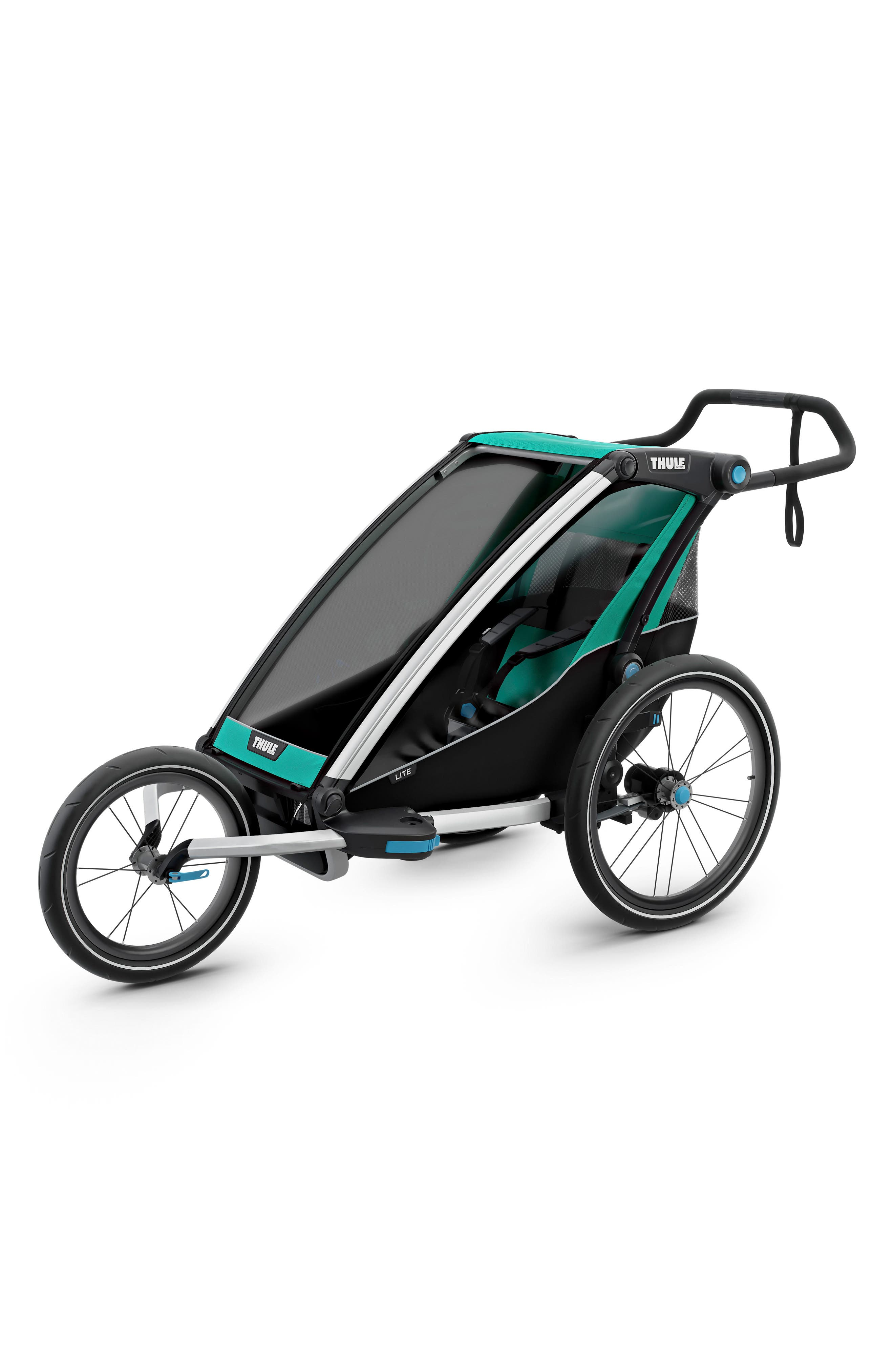Chariot Lite Multisport Cycle Trailer/Stroller,                             Alternate thumbnail 7, color,                             BLUEGRASS