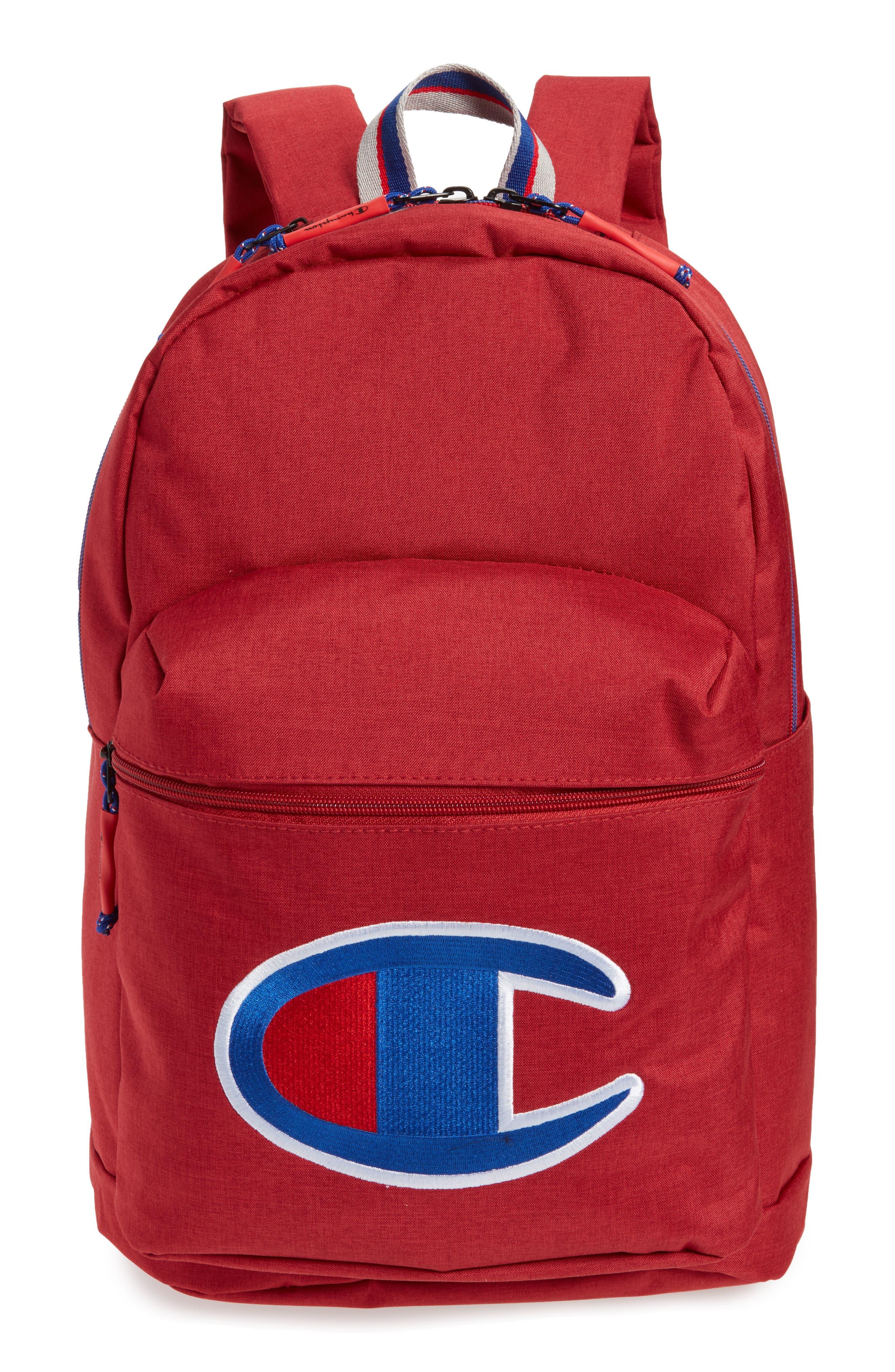 Supercize Backpack,                         Main,                         color, SCARLET HEATHER