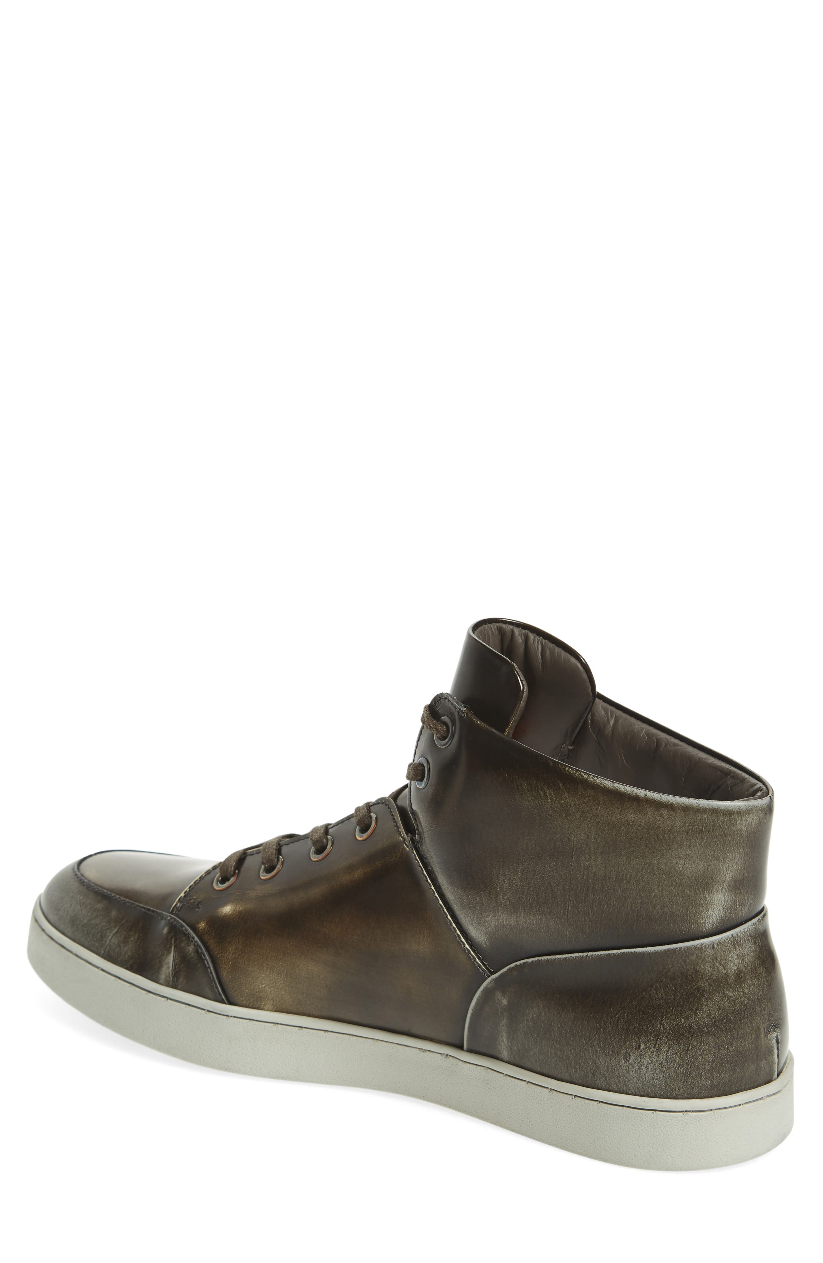 Gidean High Top Sneaker,                             Alternate thumbnail 3, color,