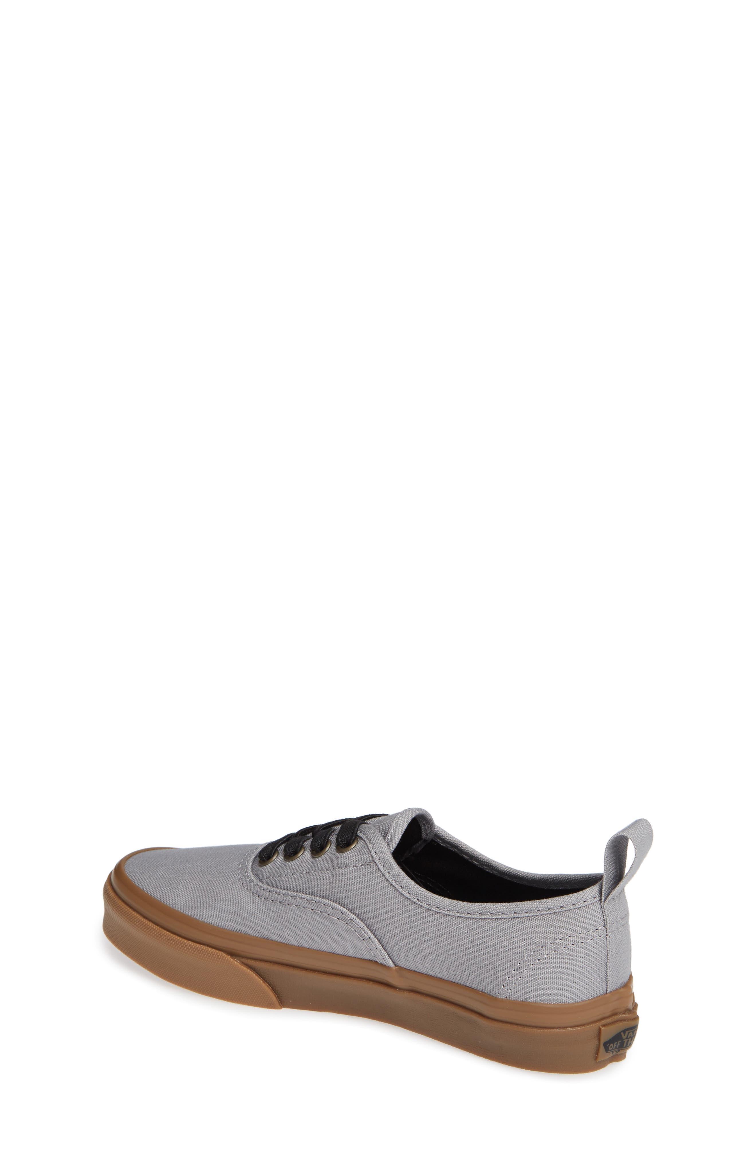 Authentic Sneaker,                             Alternate thumbnail 2, color,                             GUM OUTSOLE ALLOY/ BLACK