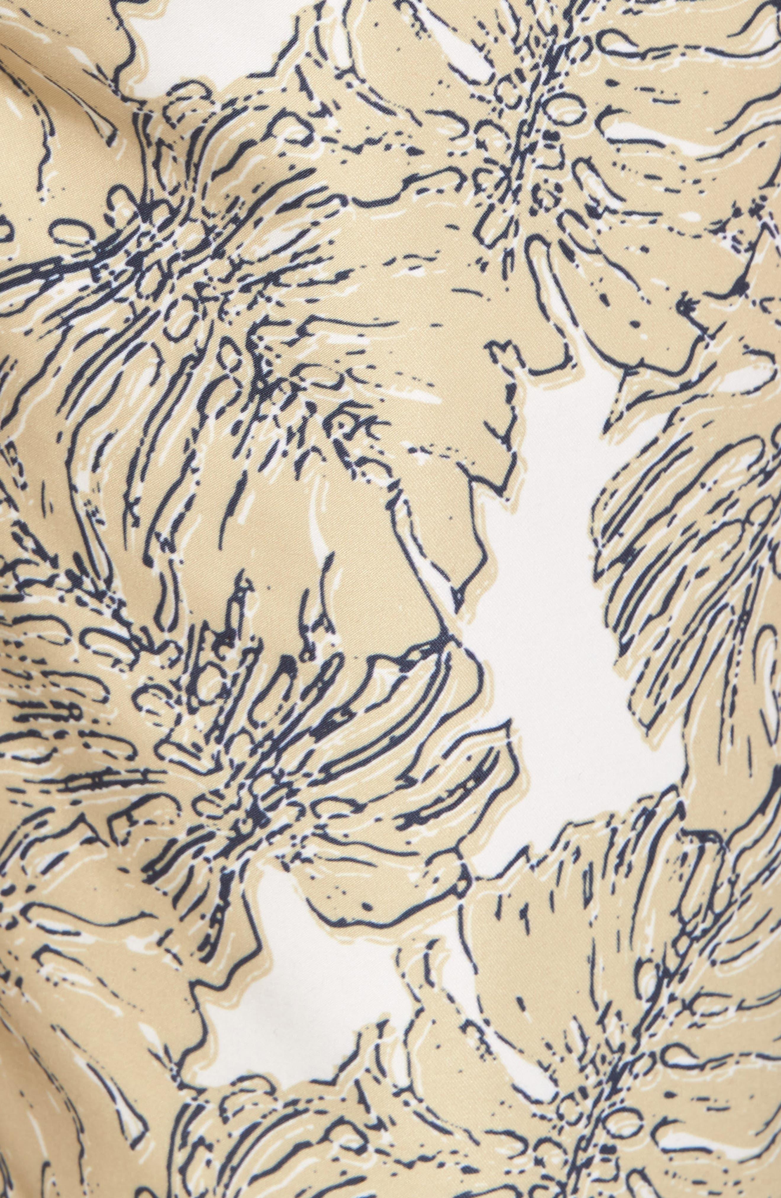 Split Leaf Swim Trunks,                             Alternate thumbnail 5, color,                             900