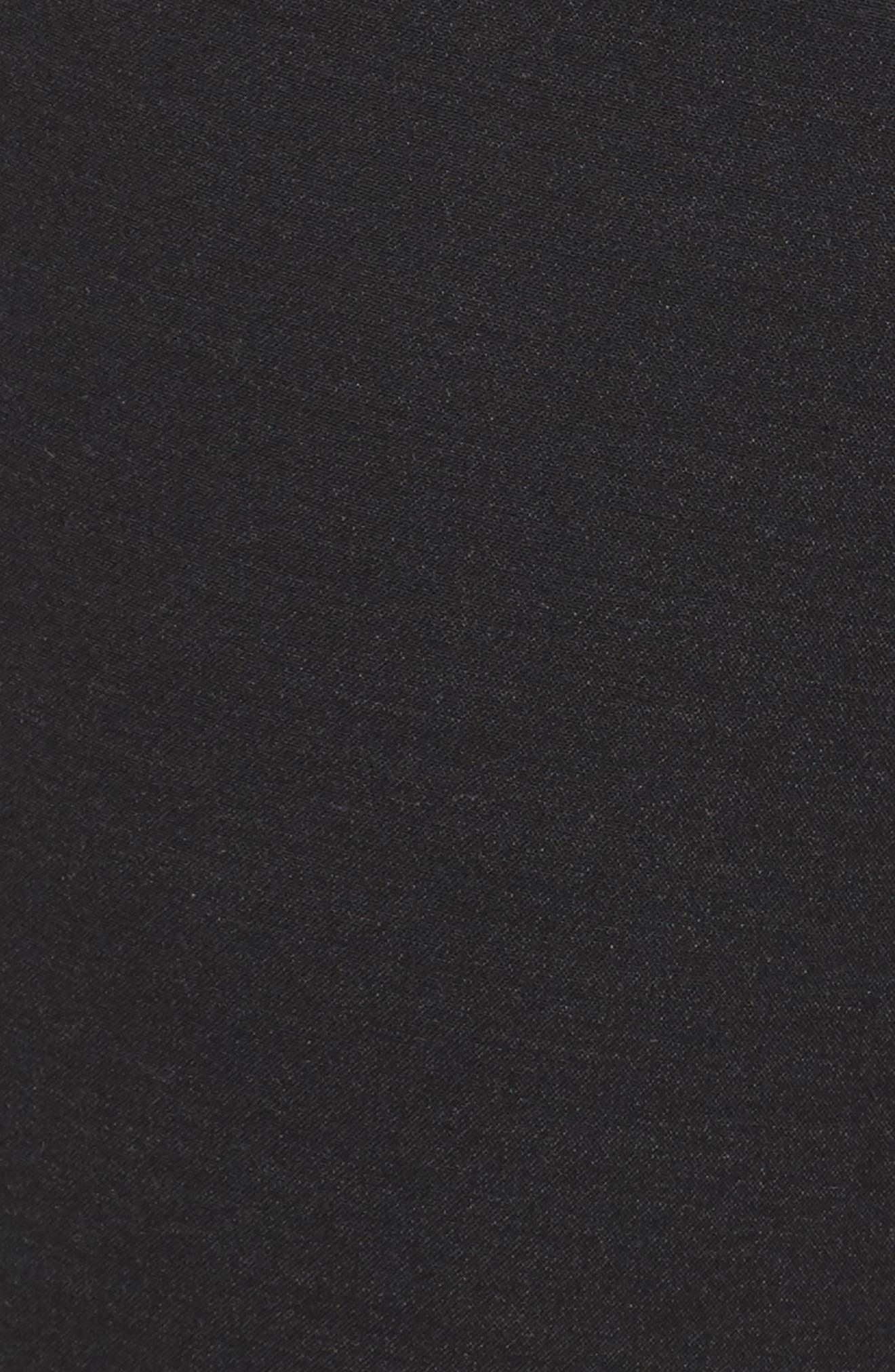 'Ela' Stretch Curvy Fit Wide Leg Suit Pants,                             Alternate thumbnail 5, color,                             022
