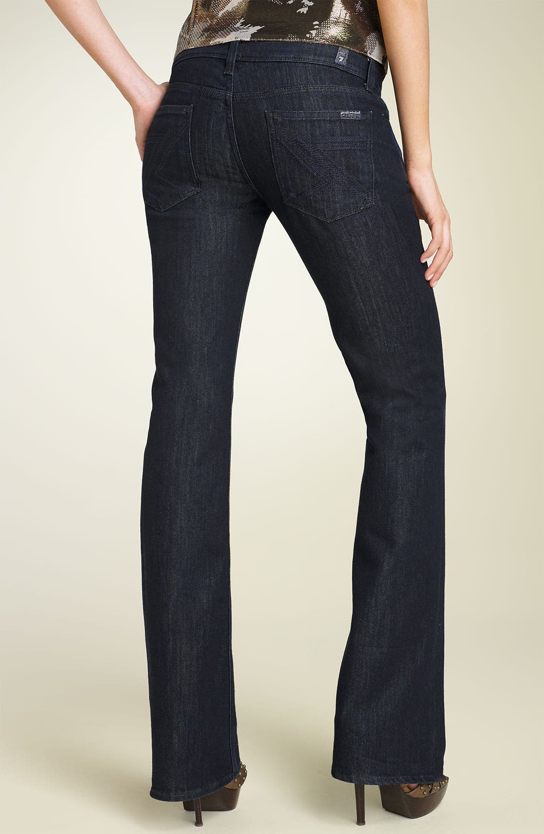'Flynt' Bootcut Stretch Jeans, Main, color, 450