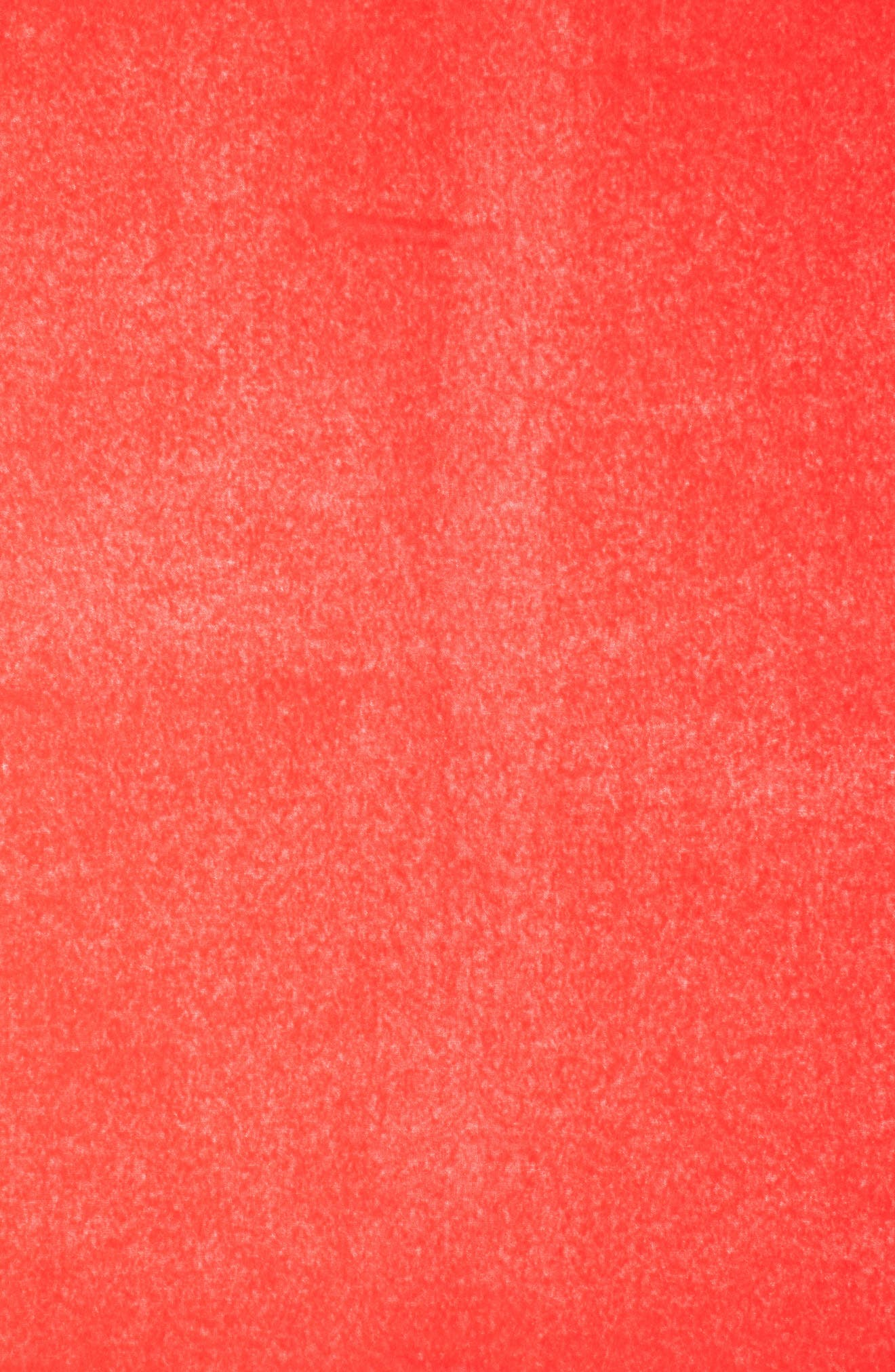 Cashmere Scarf,                             Alternate thumbnail 4, color,                             RED CHINOISE