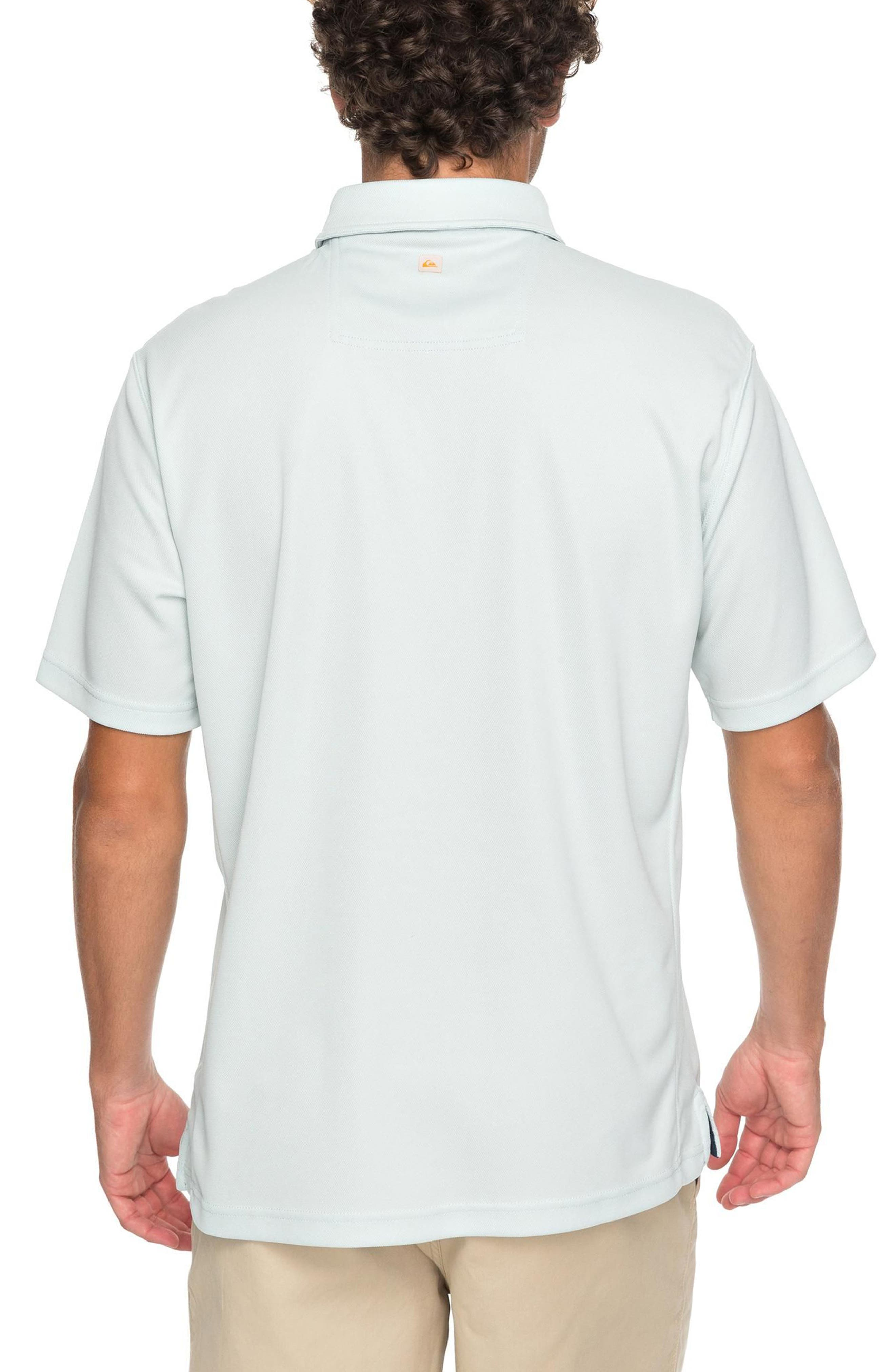 Water 2 Technical Polo Shirt,                             Alternate thumbnail 4, color,