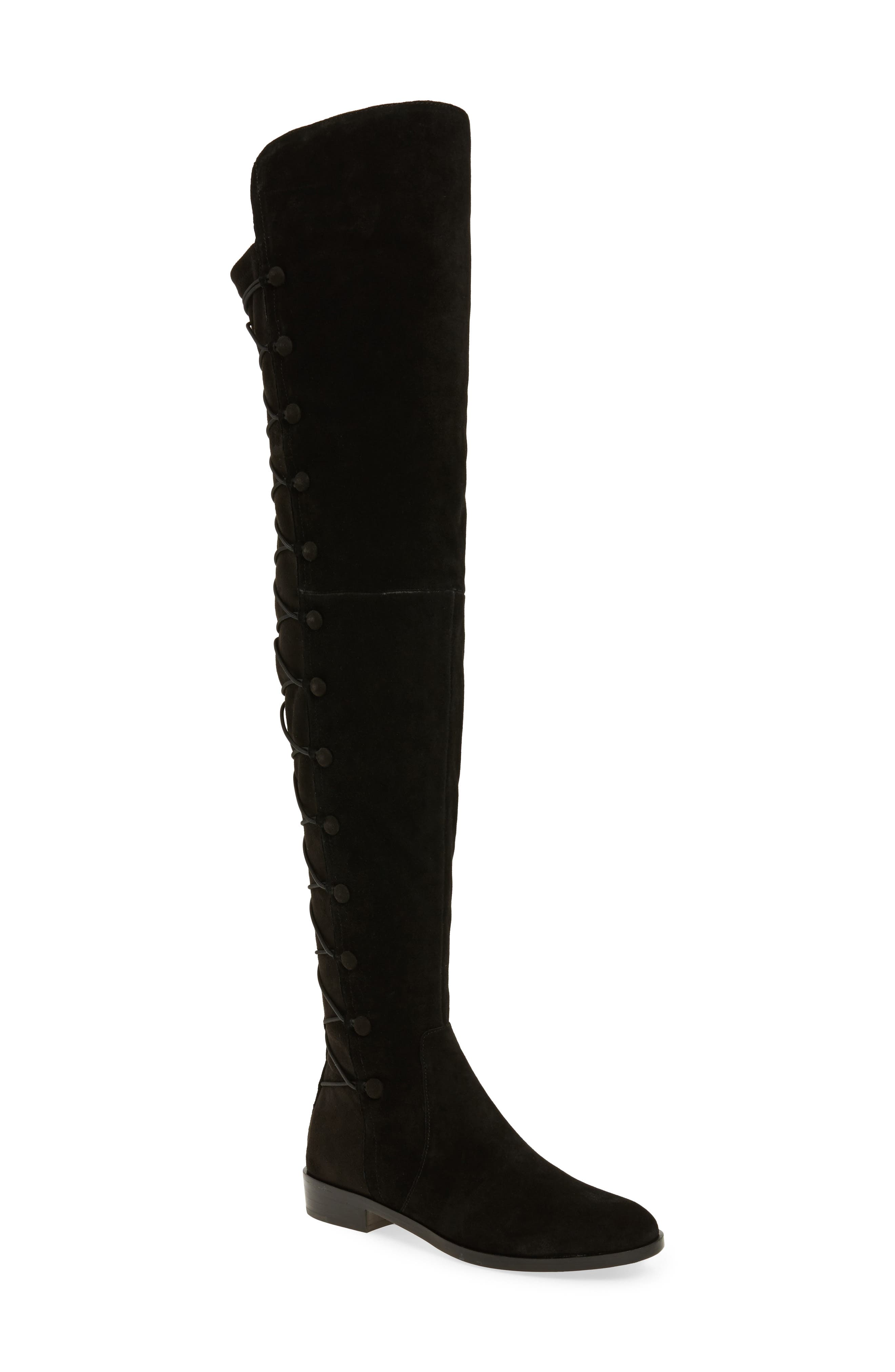 Croatia Over the Knee Boot,                             Main thumbnail 1, color,                             002