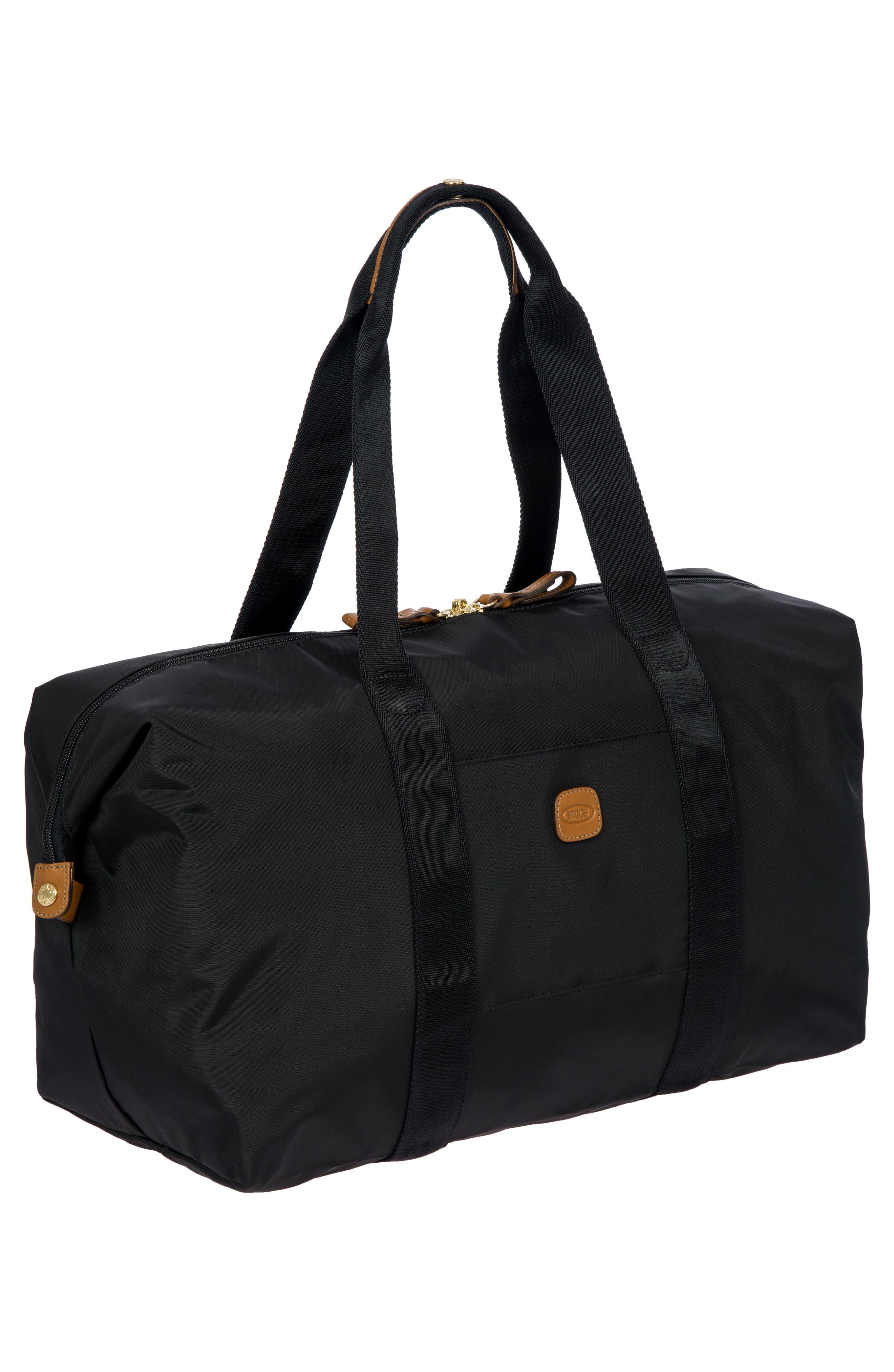 X-Bag 18-Inch Folding Duffel Bag,                             Alternate thumbnail 4, color,                             BLACK