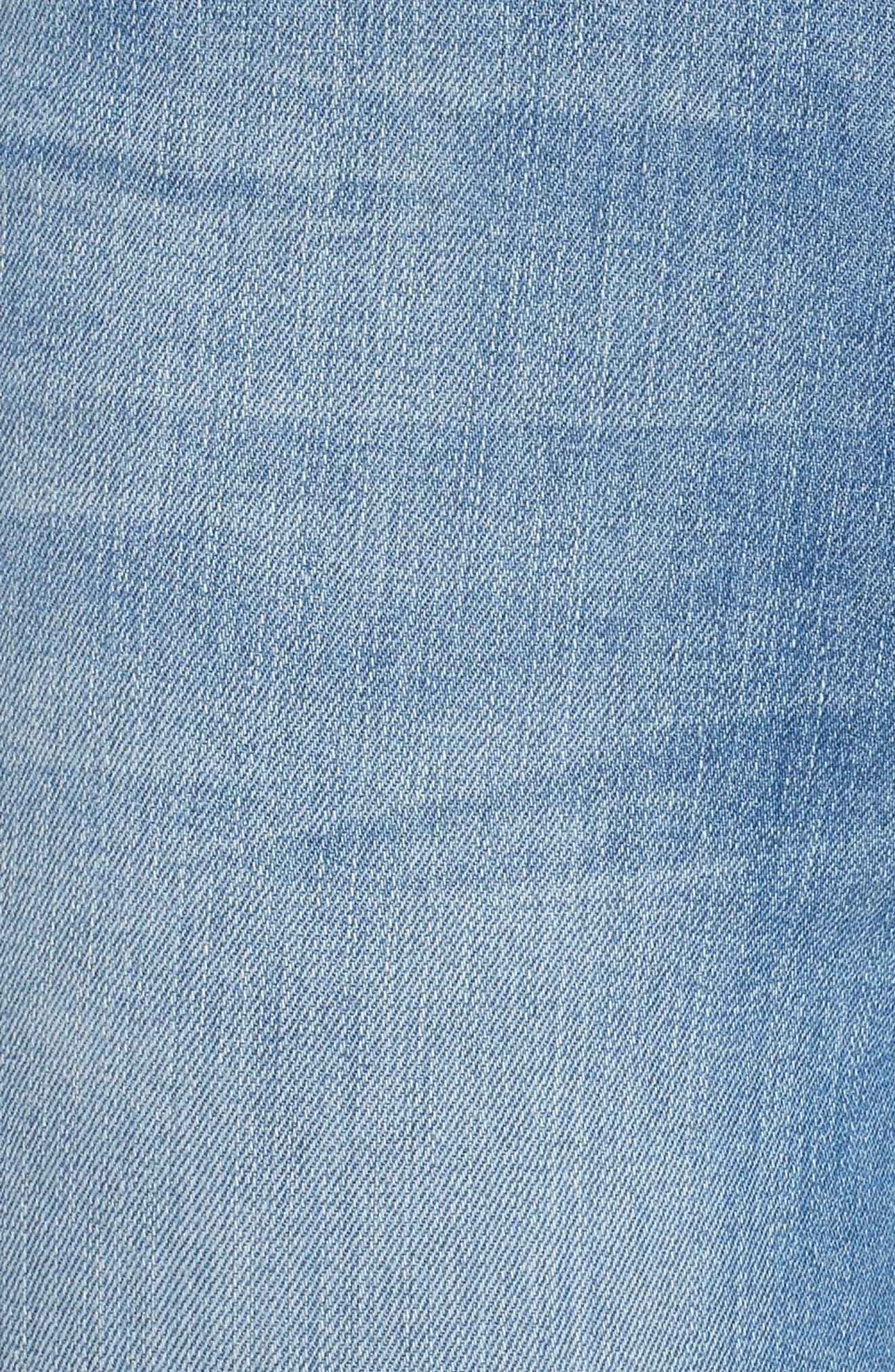 Good Waist Tunnel Hem Skinny Jeans,                             Alternate thumbnail 6, color,                             402