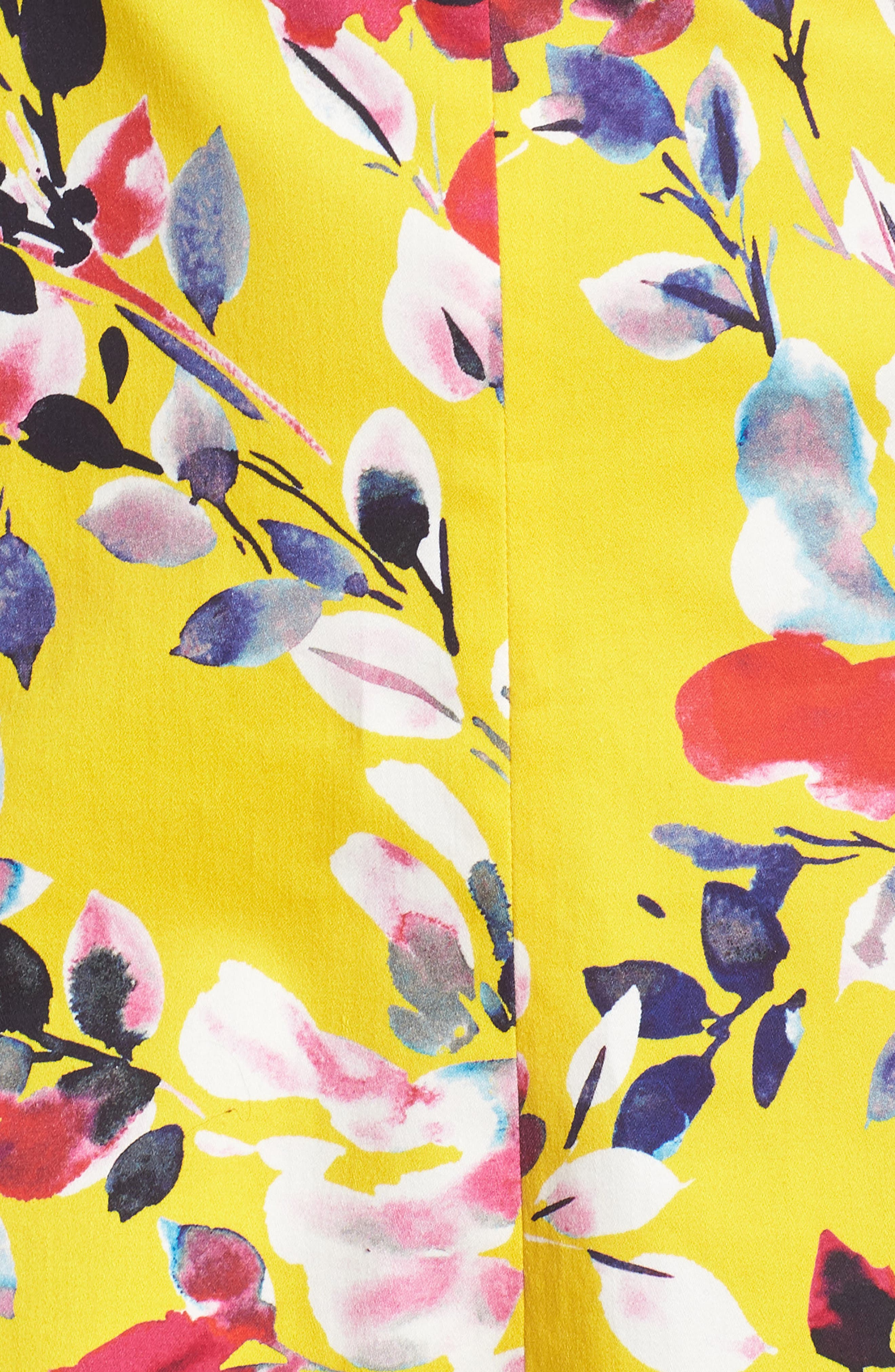 Linosa Fit & Flare Dress,                             Alternate thumbnail 6, color,                             CITRUS