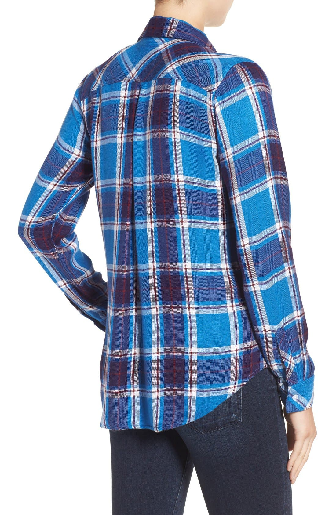 Hunter Plaid Shirt,                             Alternate thumbnail 391, color,