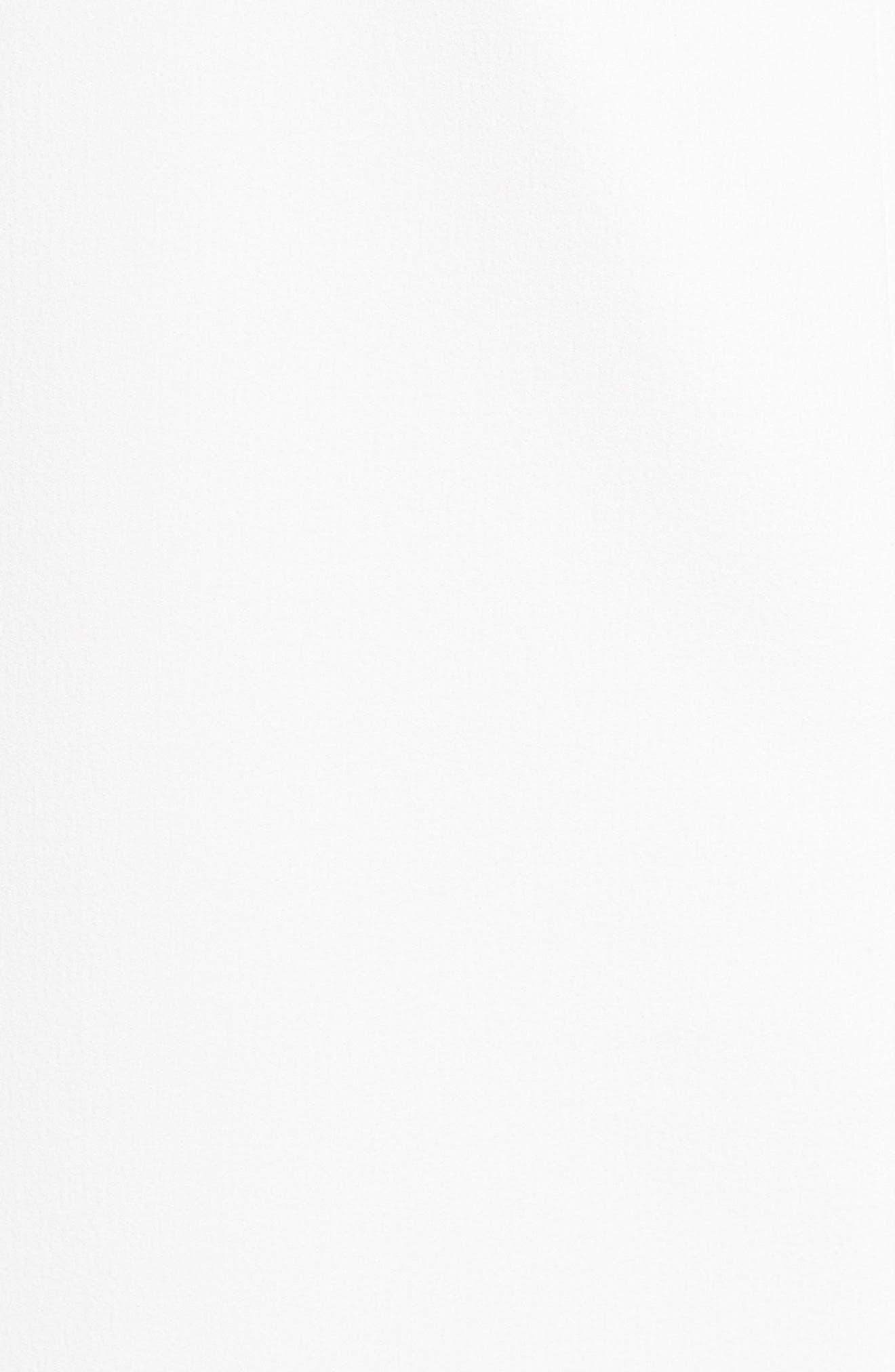 VINCE CAMUTO,                             Off the Shoulder Midi Dress,                             Alternate thumbnail 5, color,                             900