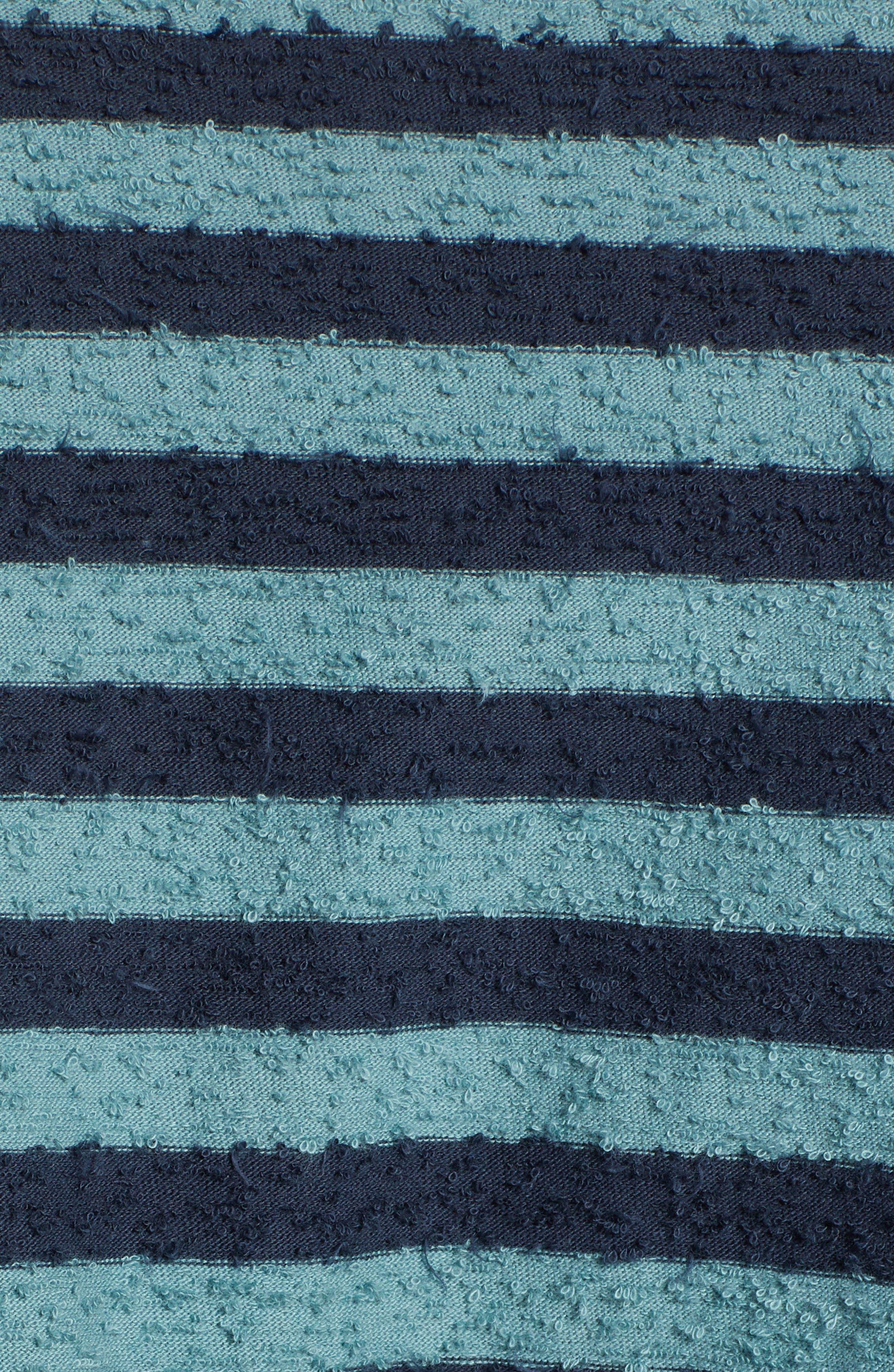 Stripe Slub T-Shirt,                             Alternate thumbnail 5, color,                             ARCTIC TONY