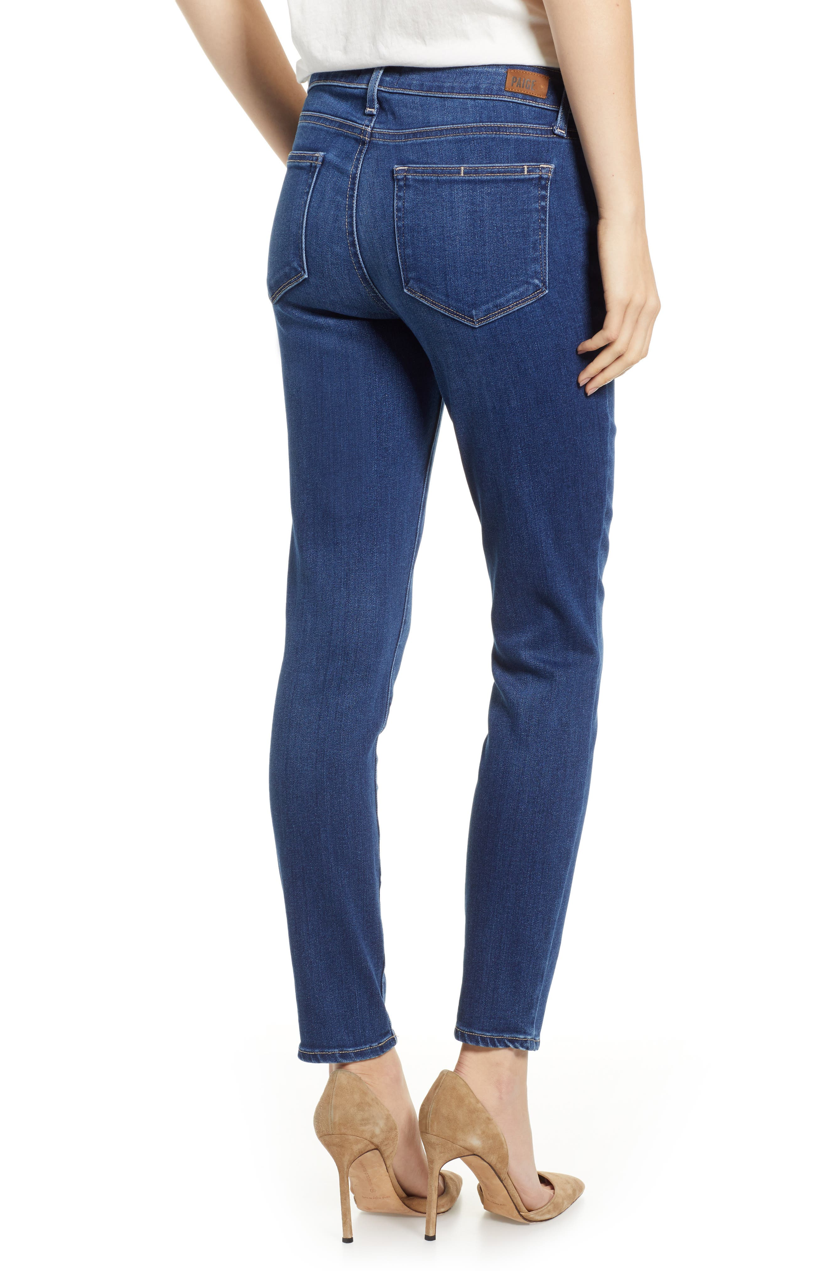 Verdugo Ankle Skinny Jeans,                             Alternate thumbnail 2, color,                             TOWNSEND