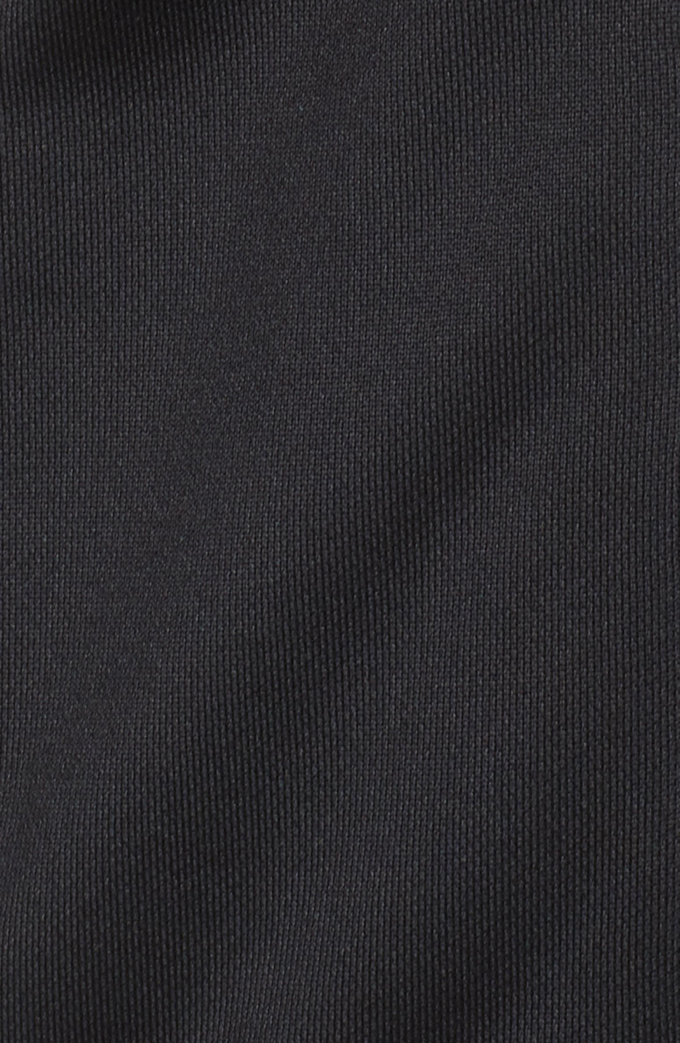 Retro Track Jacket,                             Alternate thumbnail 5, color,                             PUMA BLACK
