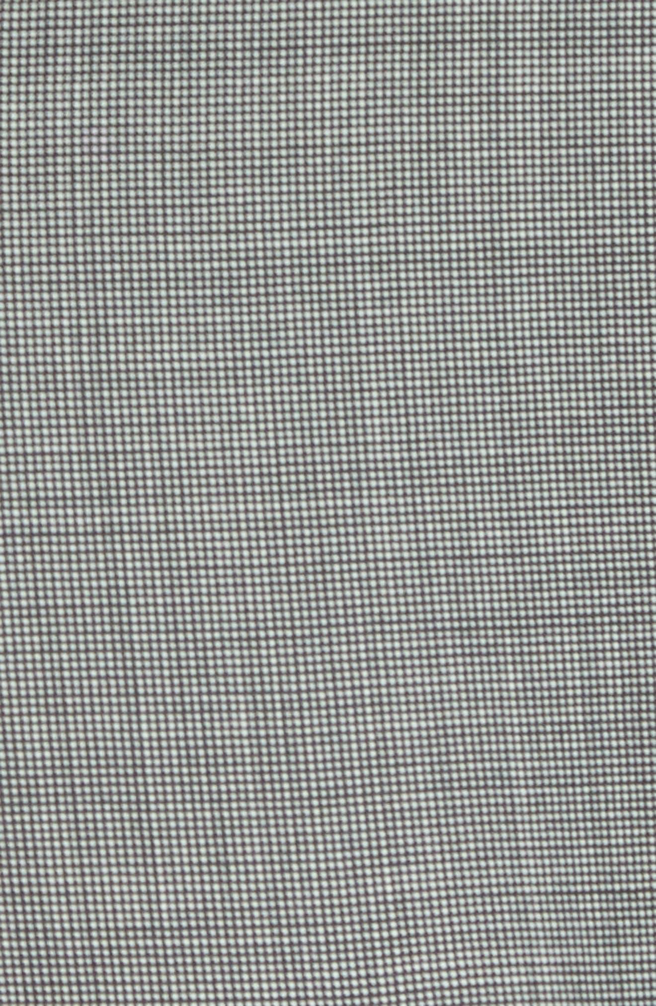 Troy Trim Fit Solid Wool Vest,                             Alternate thumbnail 6, color,                             LIGHT GREY