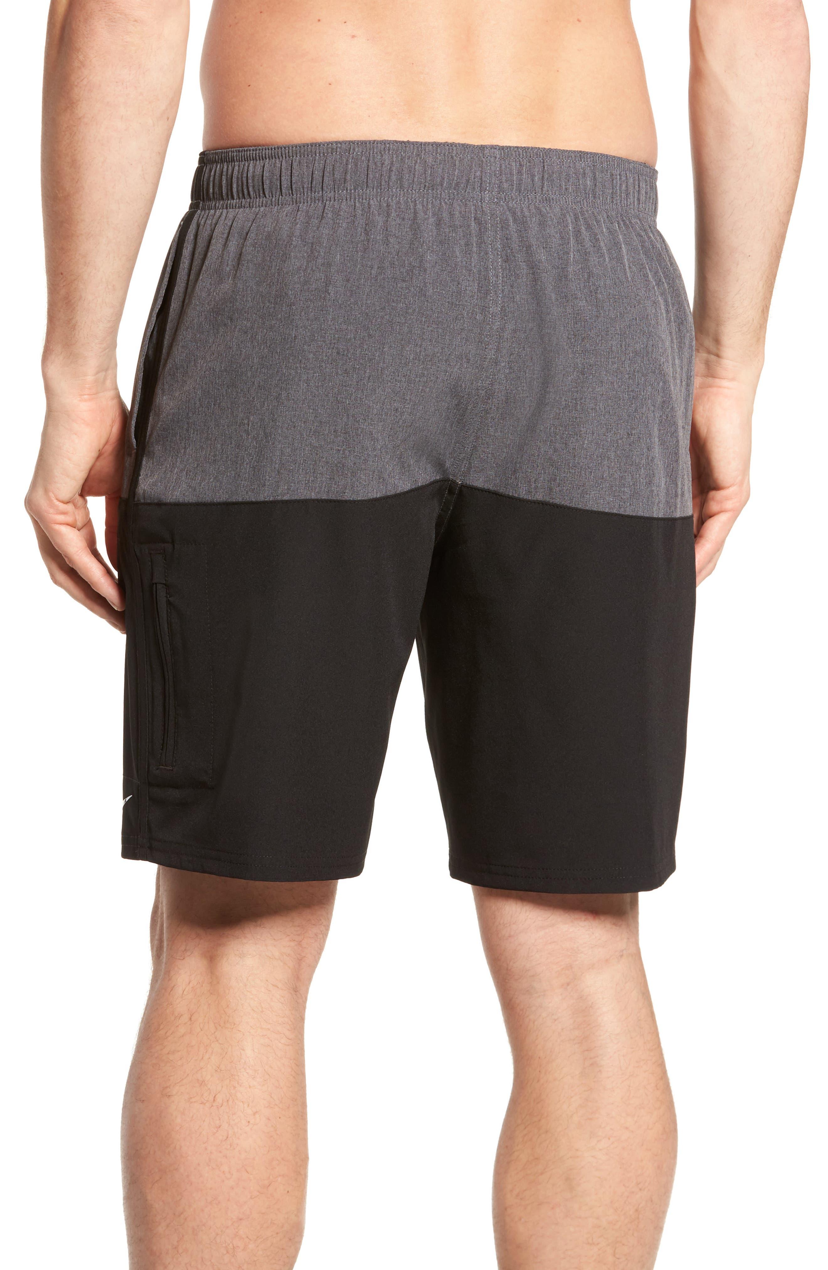 Split Board Shorts,                             Alternate thumbnail 2, color,                             001