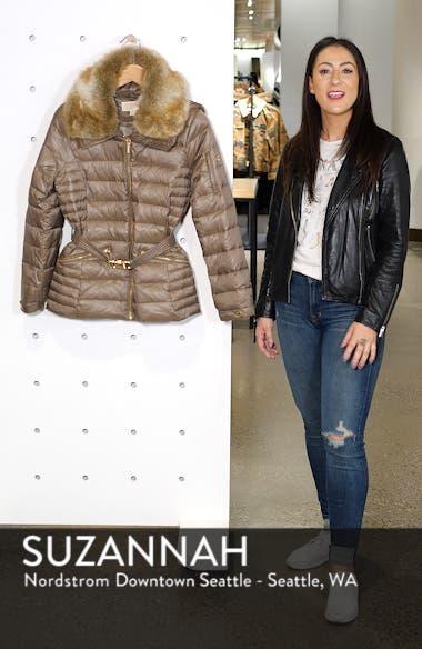Faux Fur Puffer Jacket, sales video thumbnail