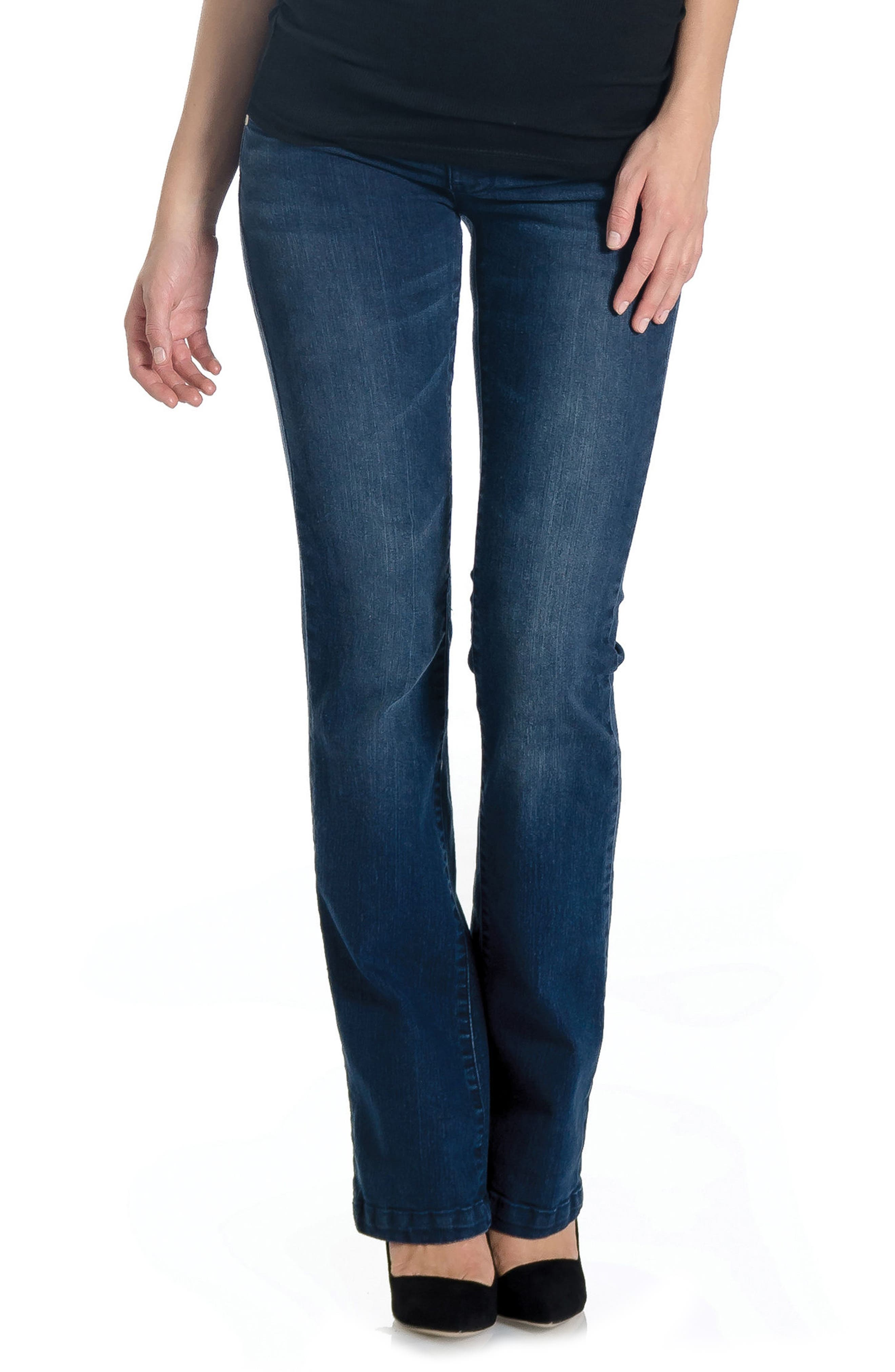 'Signature' Bootcut Maternity Stretch Jeans,                             Main thumbnail 2, color,